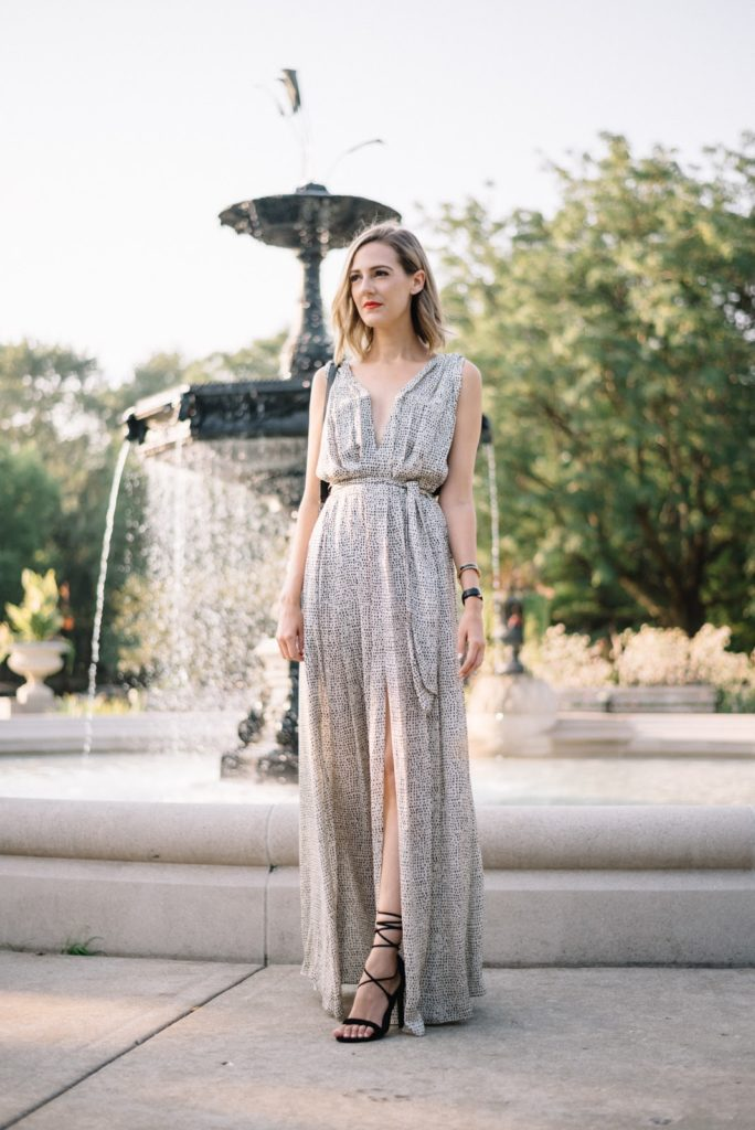 formal maxi dress outfit