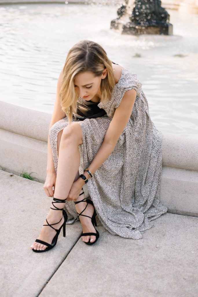 formal maxi outfit, l'agence