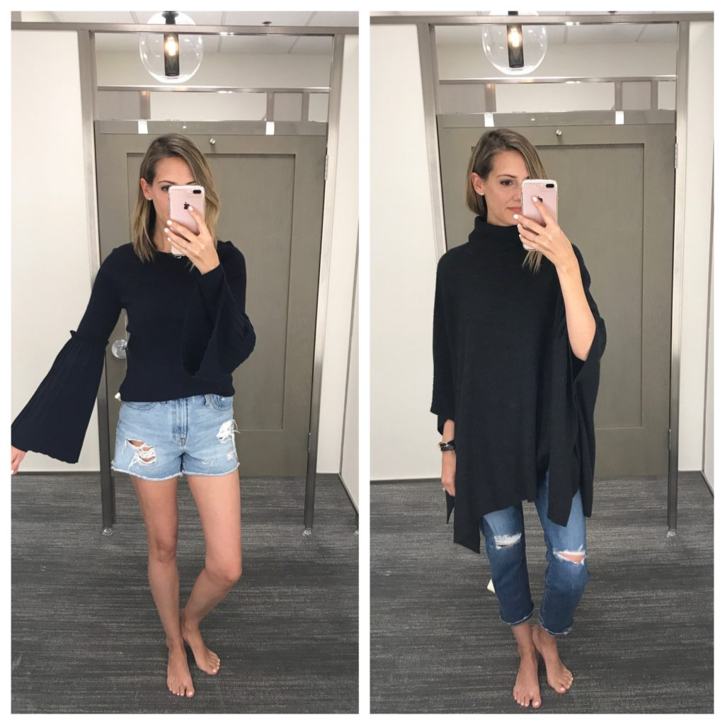 chelsea28 sweater, Nordstrom poncho