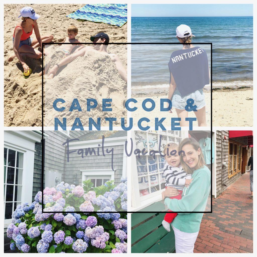 cape cod nantucket family vacation