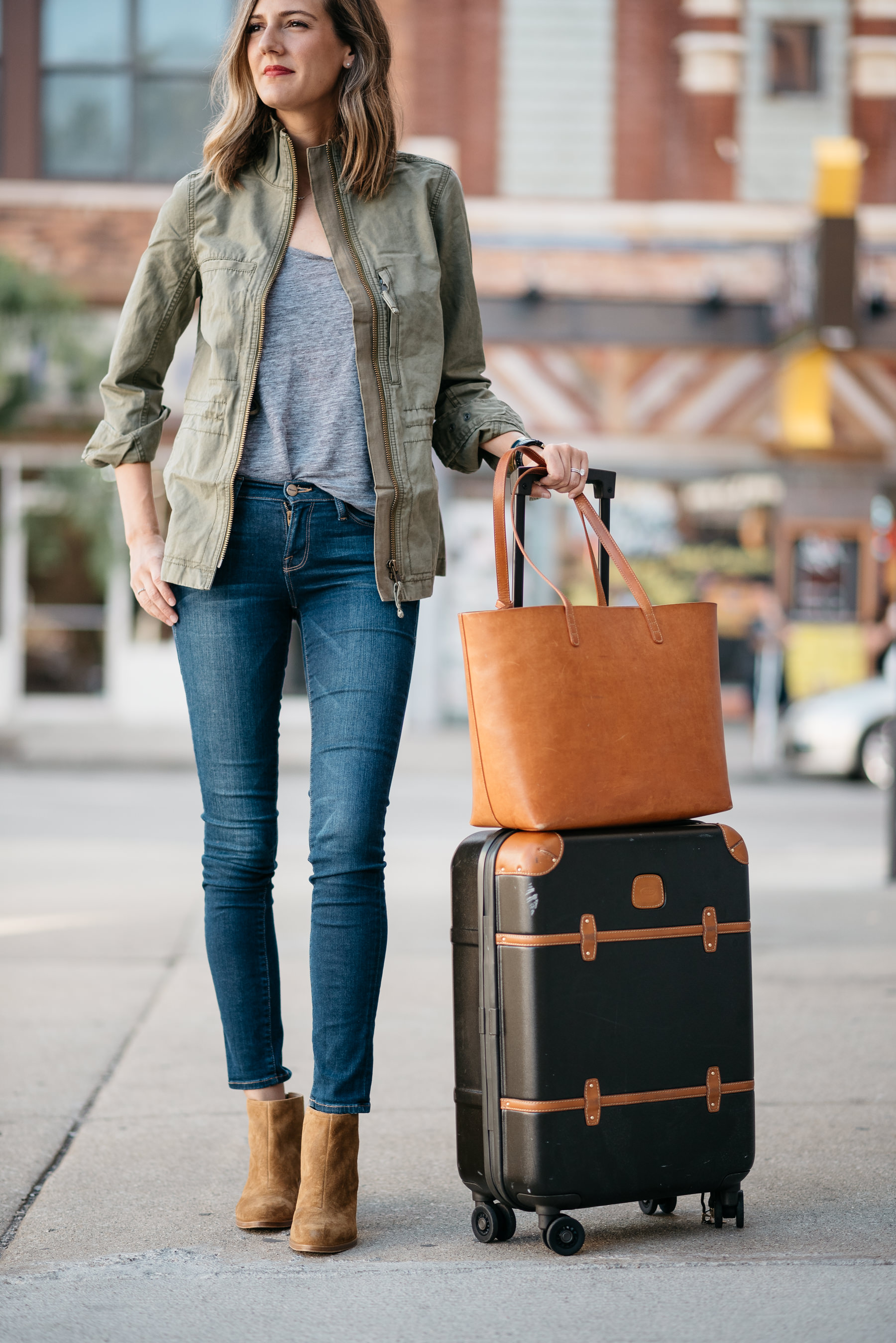 easy travel style cute suitcase