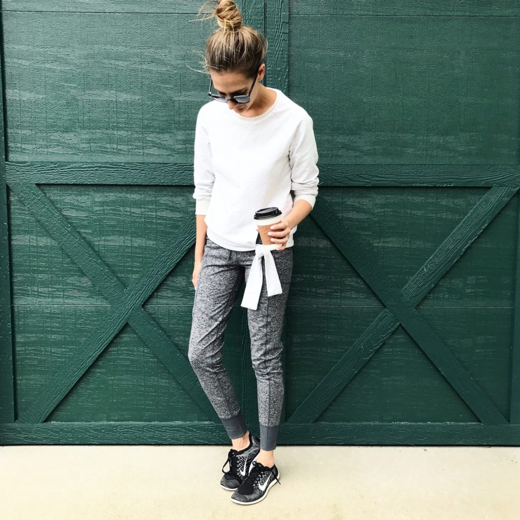athleisure casual outfit