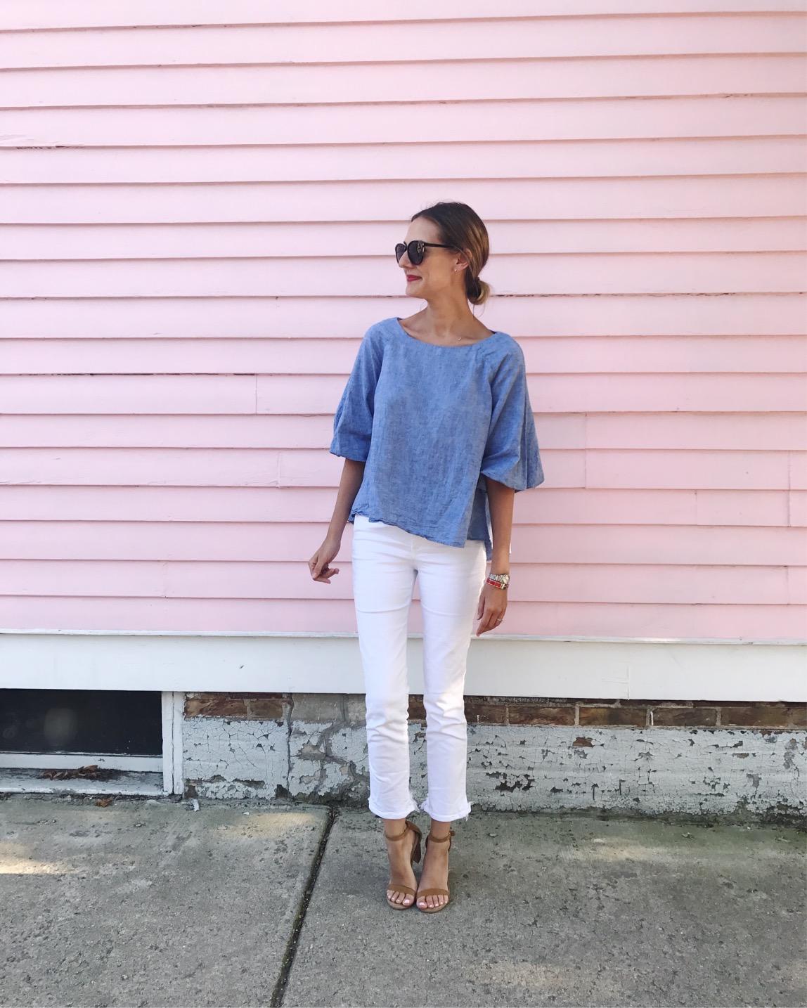 3x1 white jeans, #ootd summer