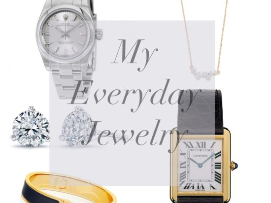 everyday simple jewelry push present idea