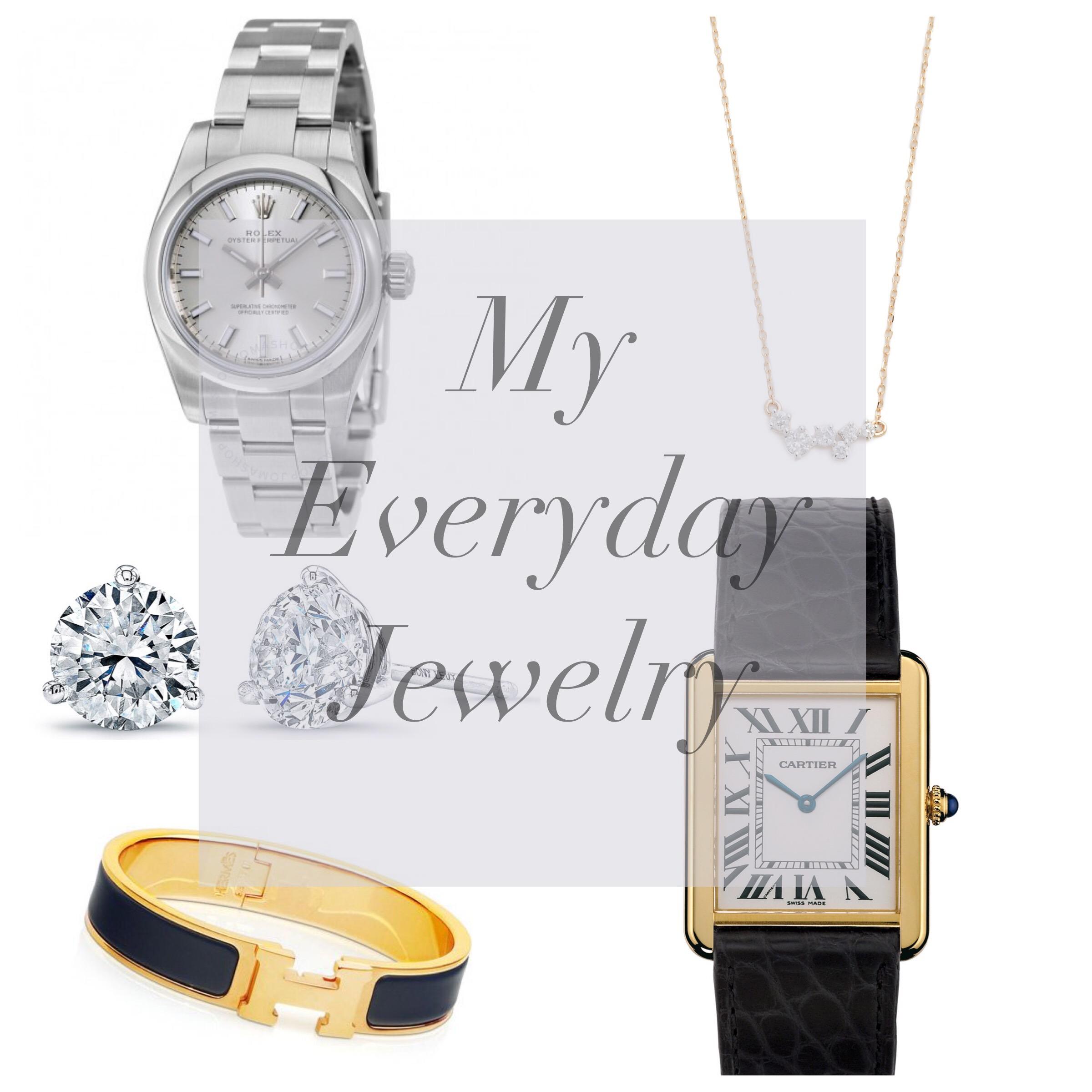 everyday simple jewelry push present idea
