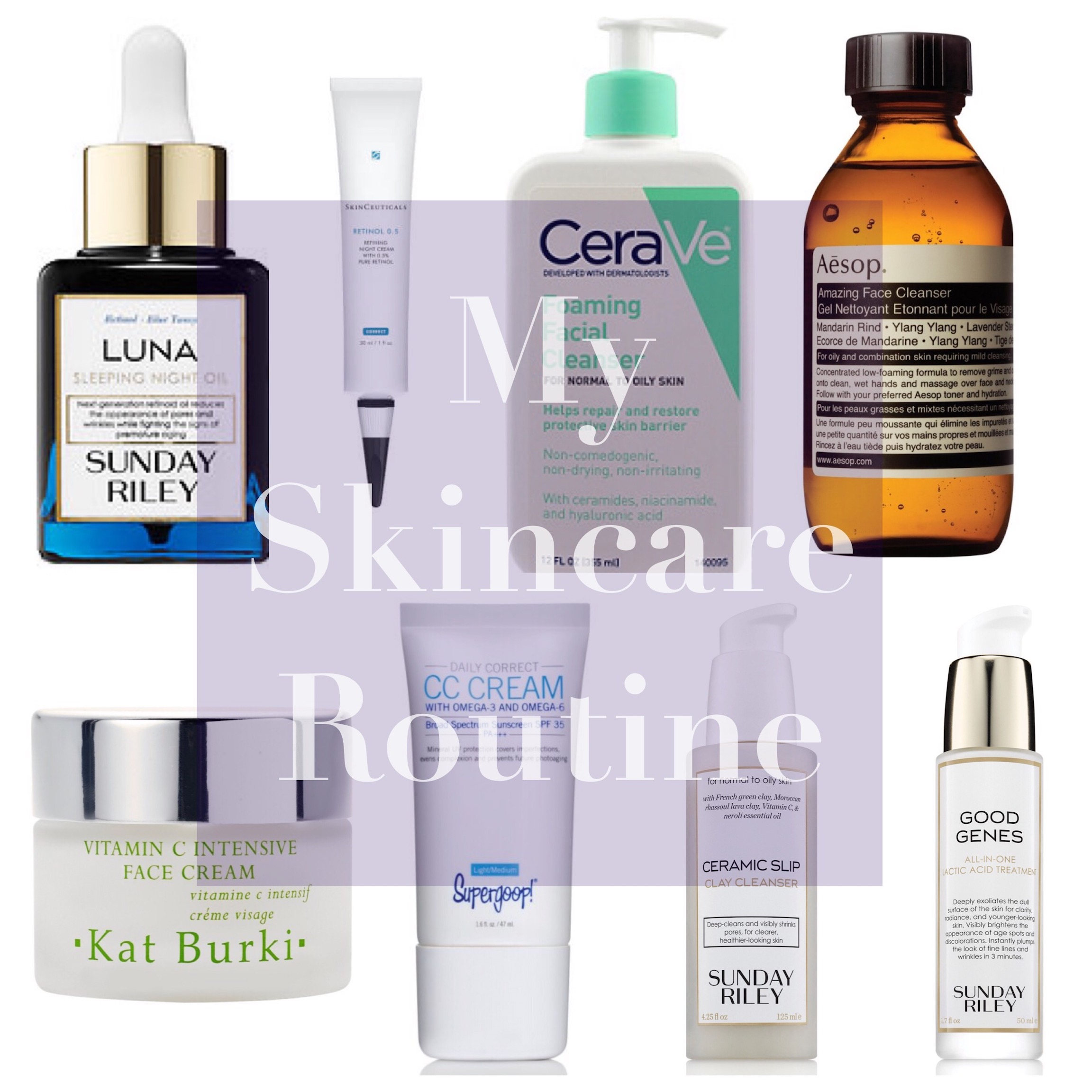 my skincare routine all natural 30 something