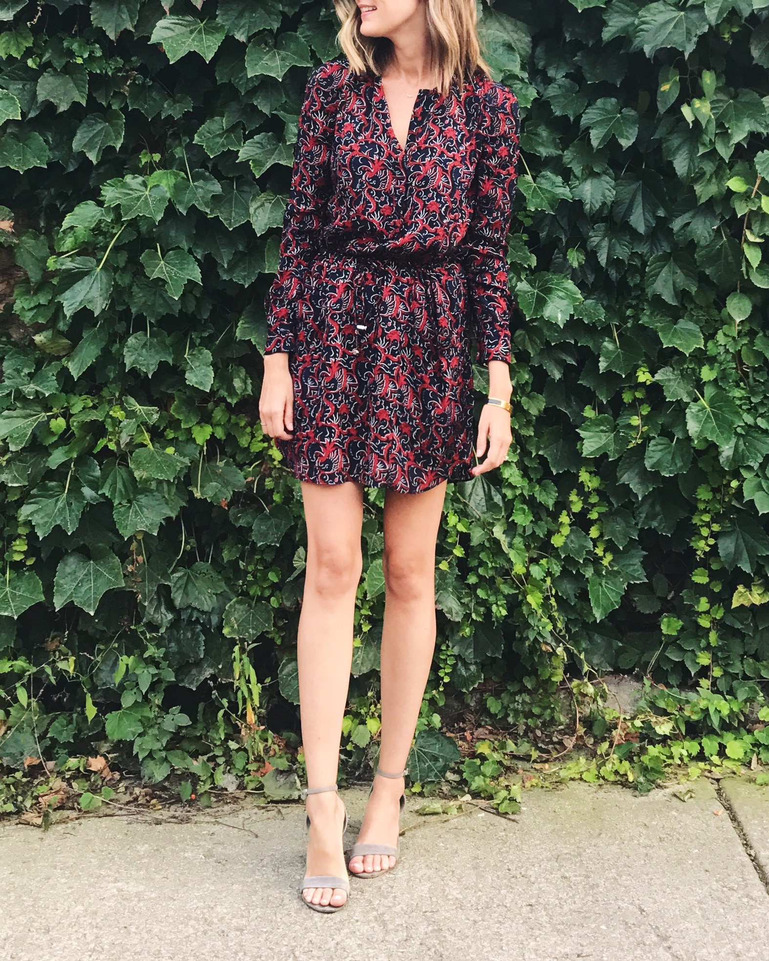 ALC dress style outfit fall