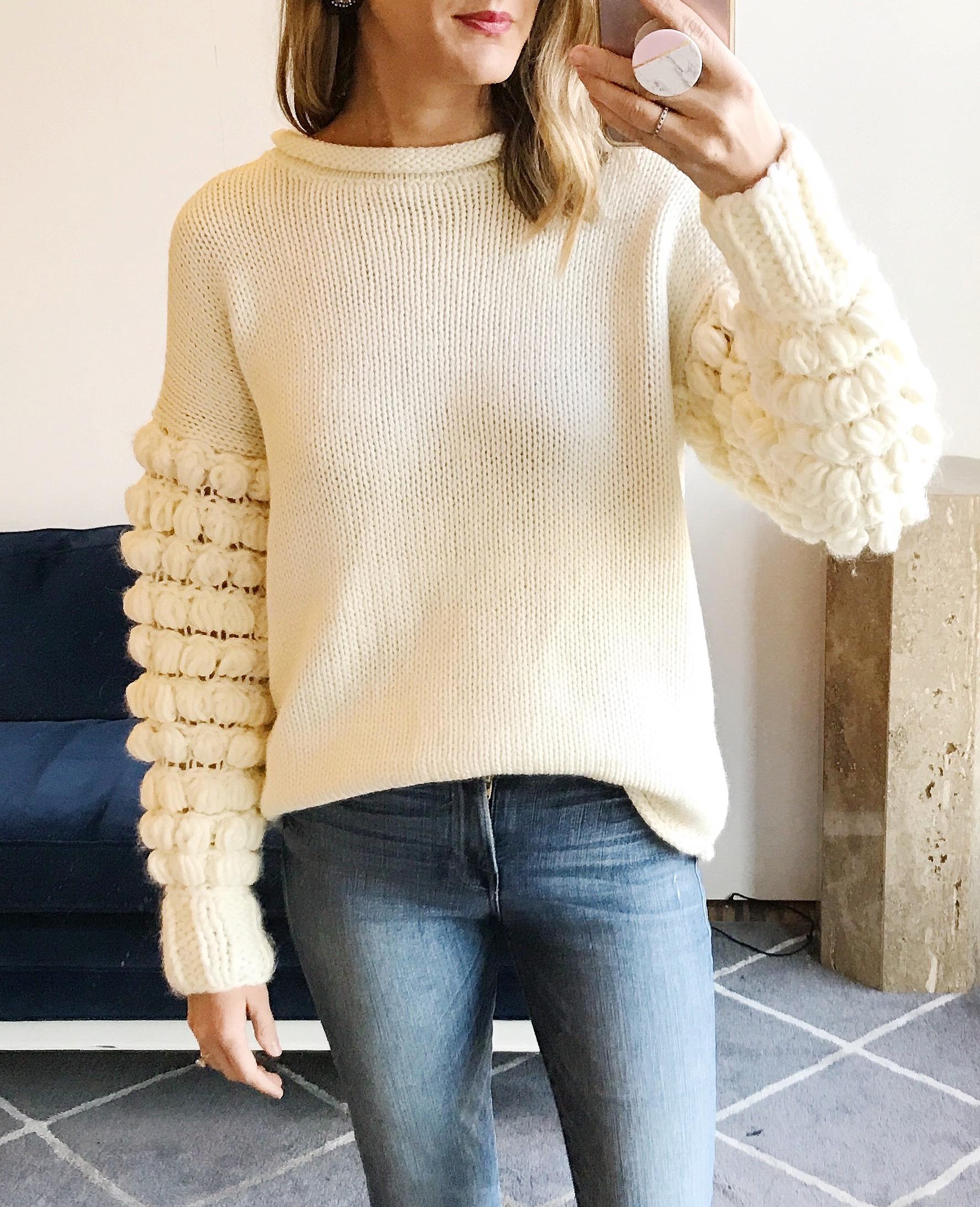 bobble sweater