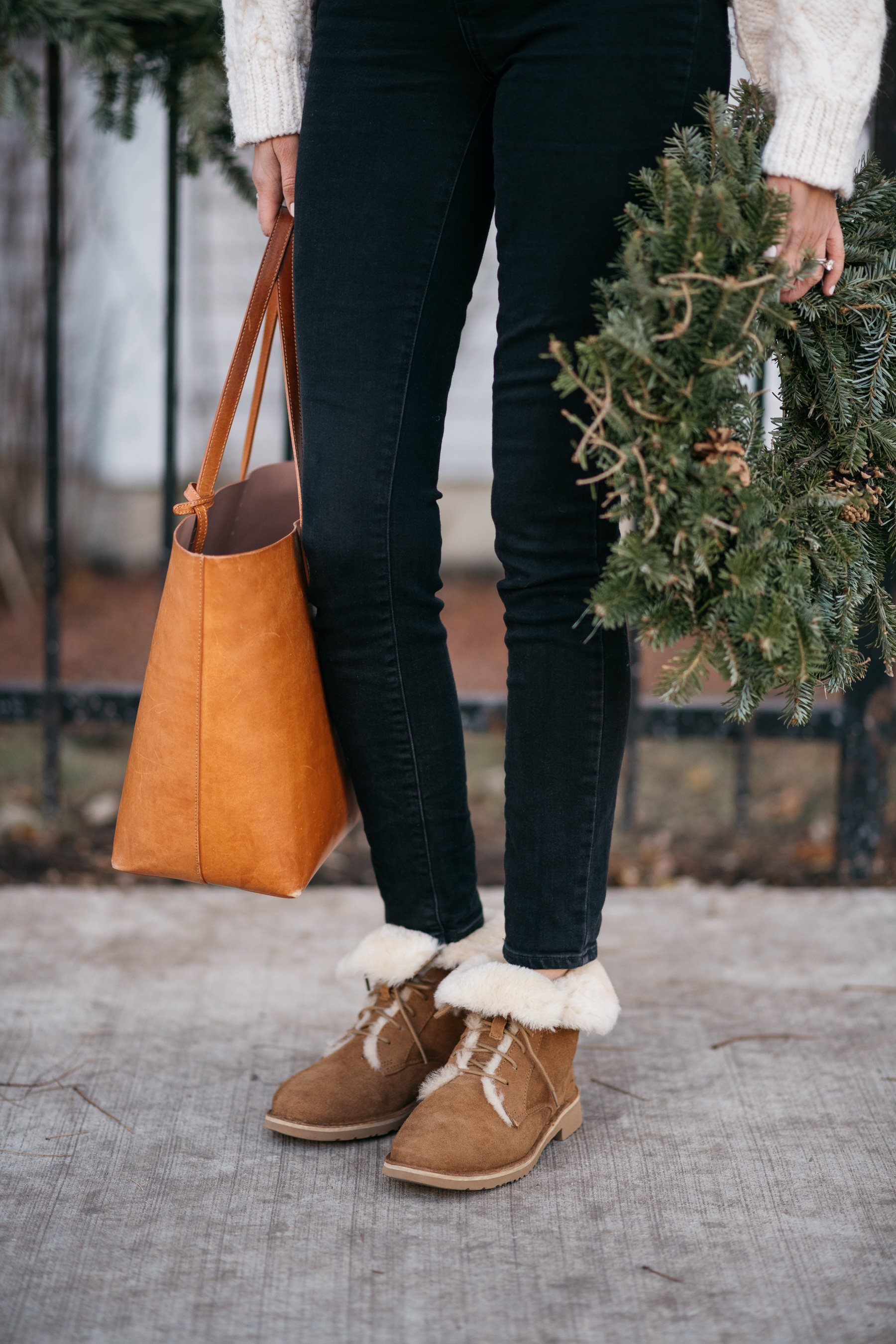 e285d4db876 how to style ugg boots for everyday with jeans winter fall quincy