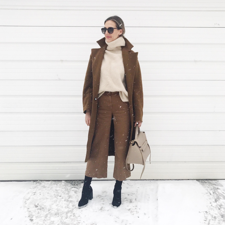 winter fashion street style snow