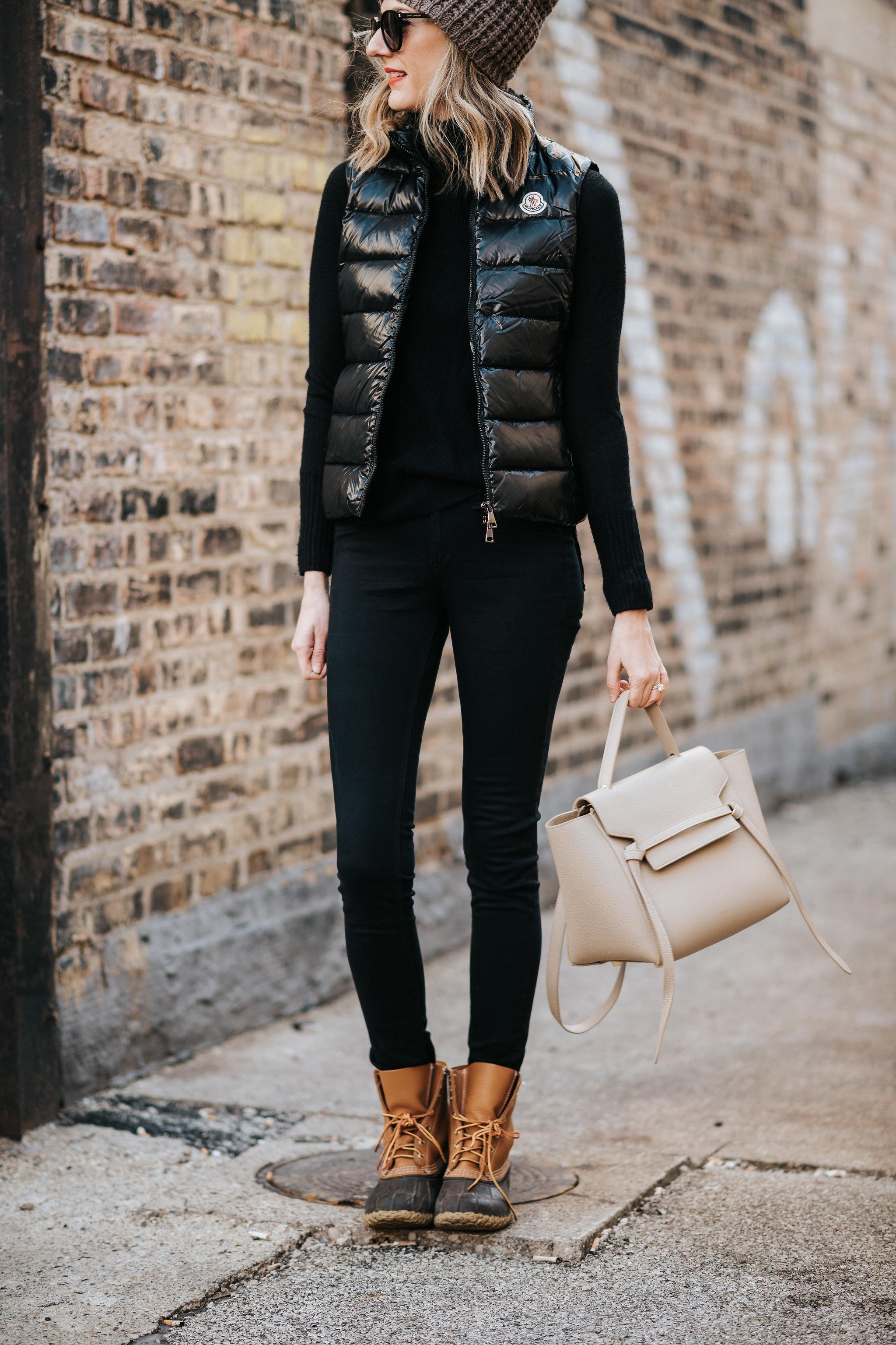 urban chic moncler weekend uniform winter