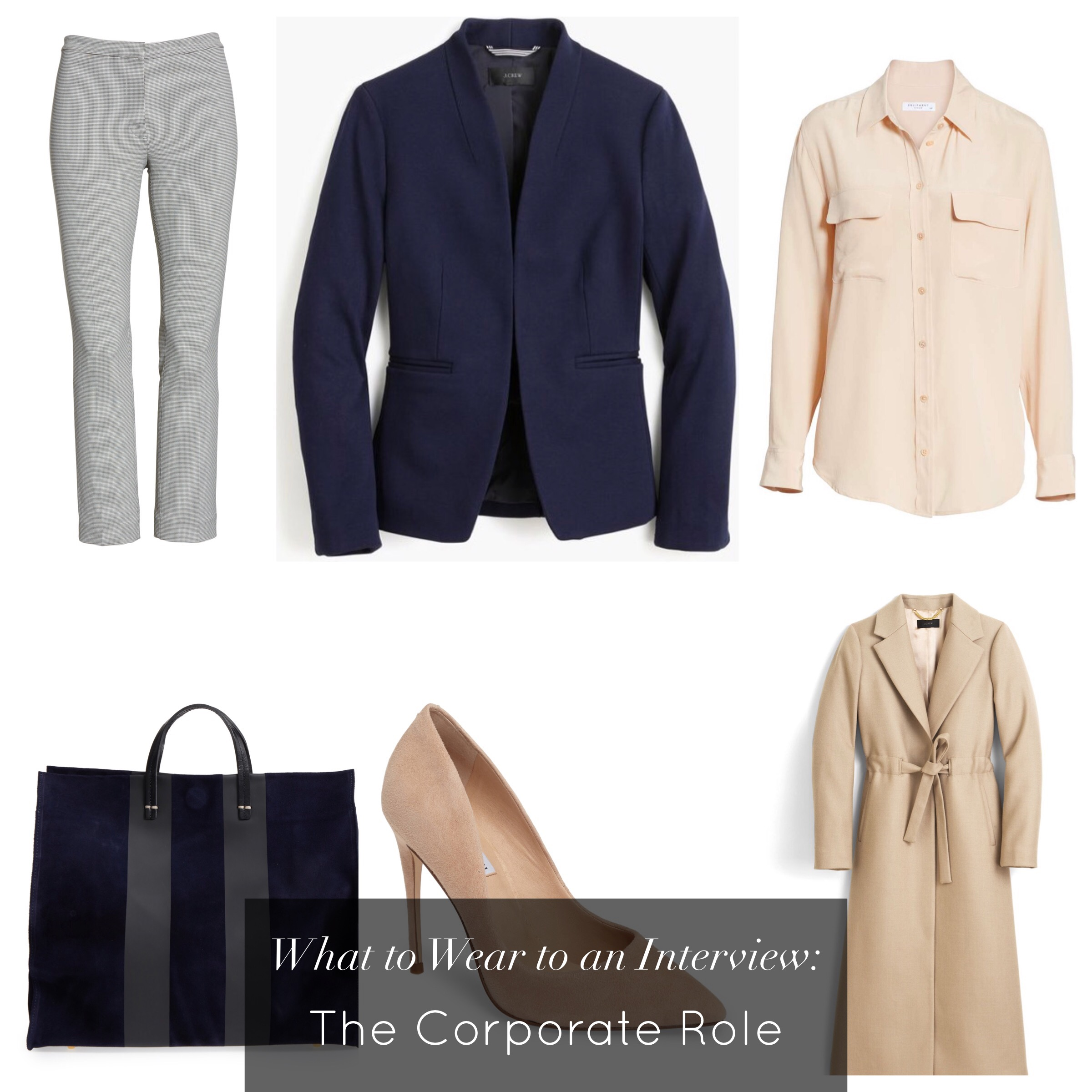 what to wear to an interview corporate role business casual