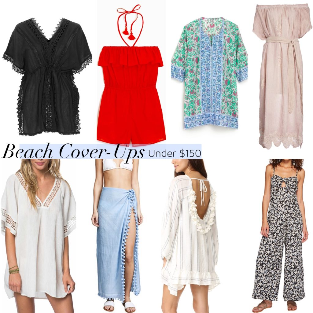 best swim beach cover-ups under $150 under $100