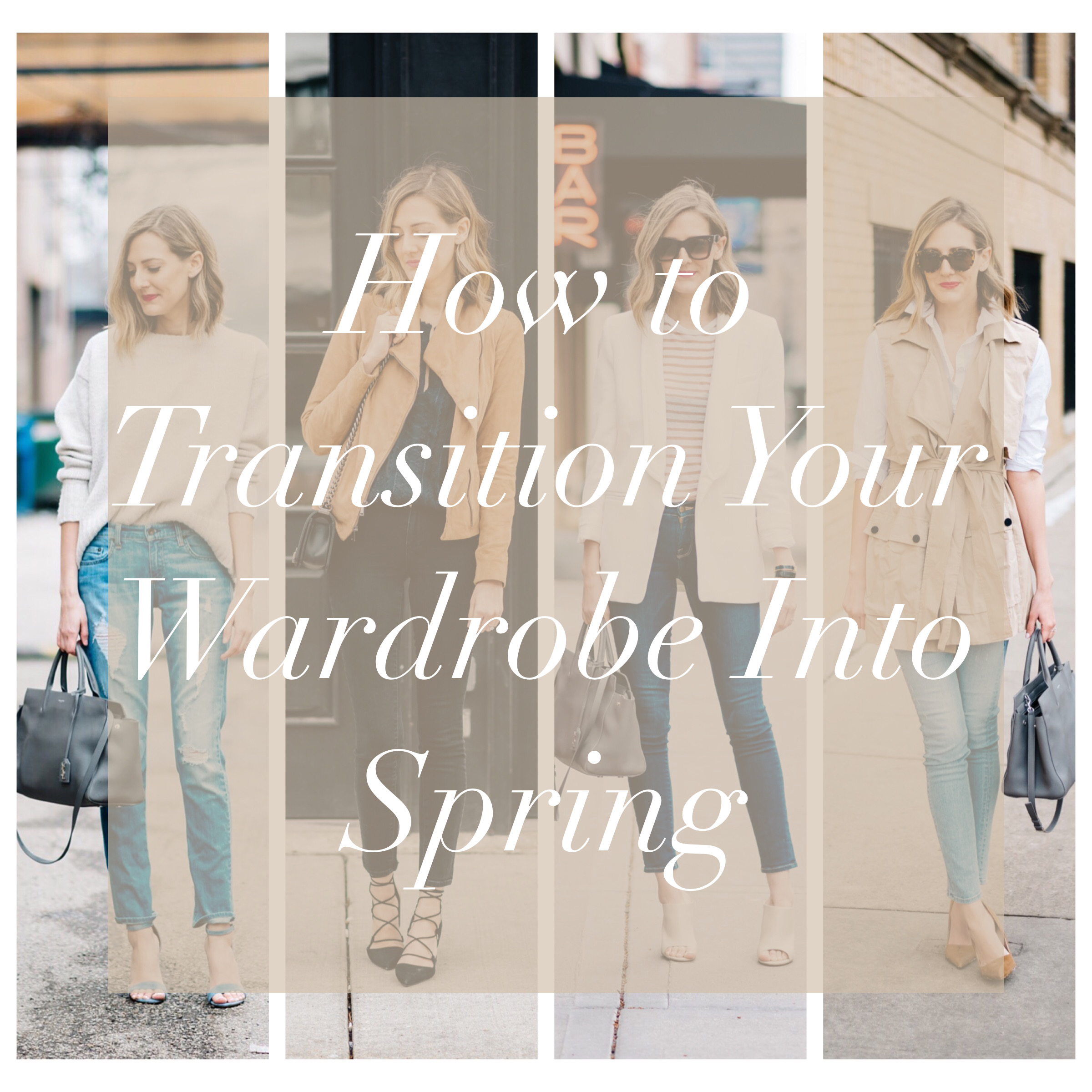 spring transition outfit inspiration