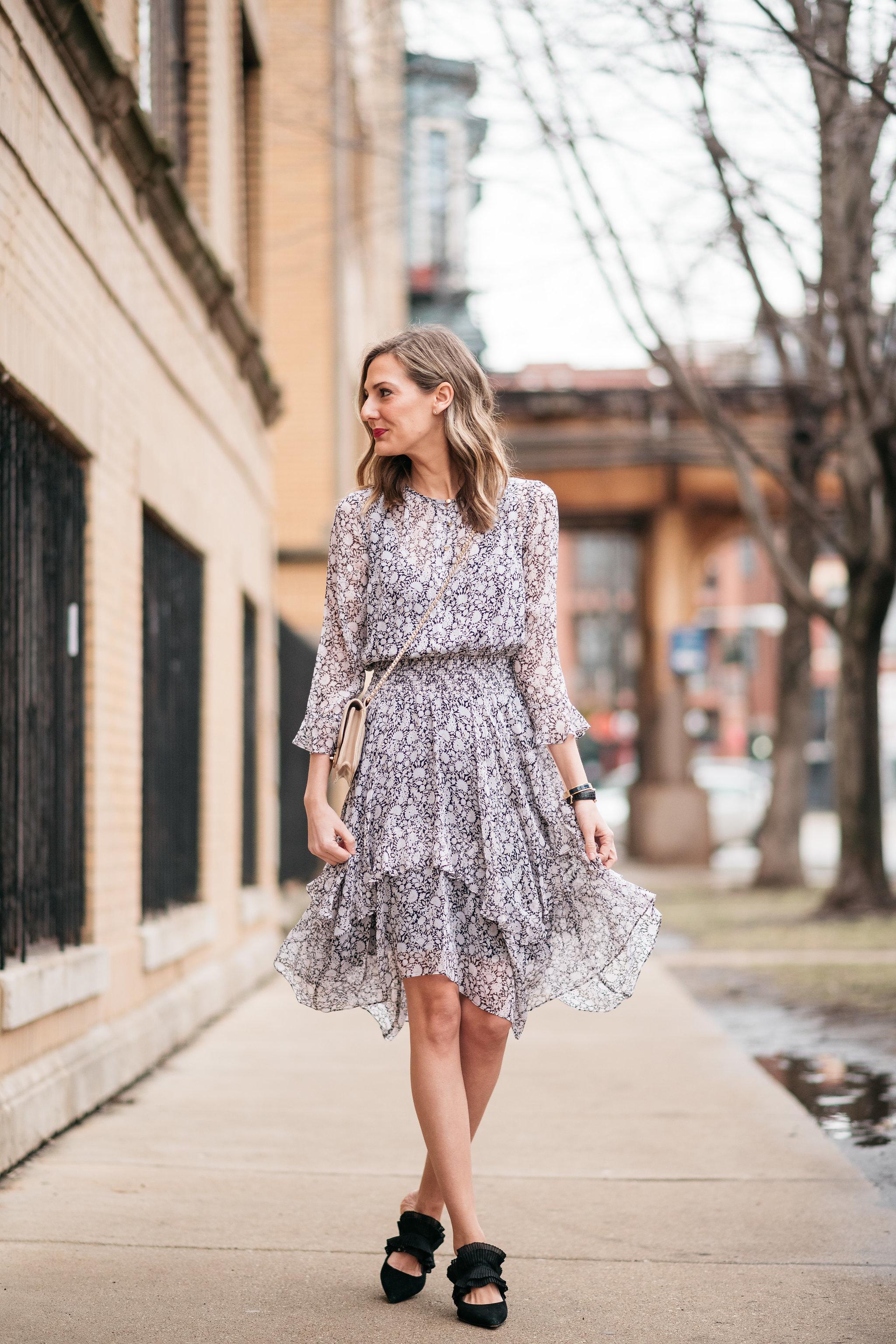 shoshanna koko dress perfect spring dress