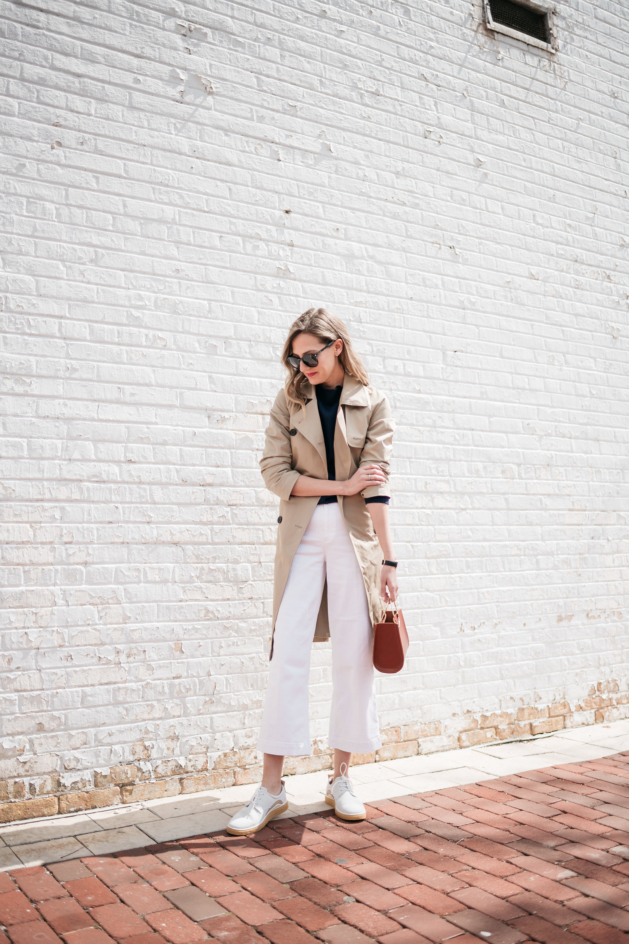 everlane trench future glory bag paige nellie jeans