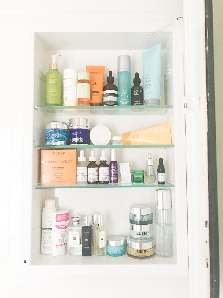 my beauty shelfie medicine cabinet
