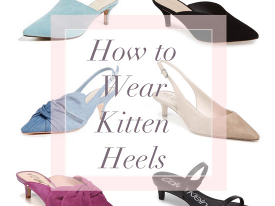 Would You Wear? Kitten Heels