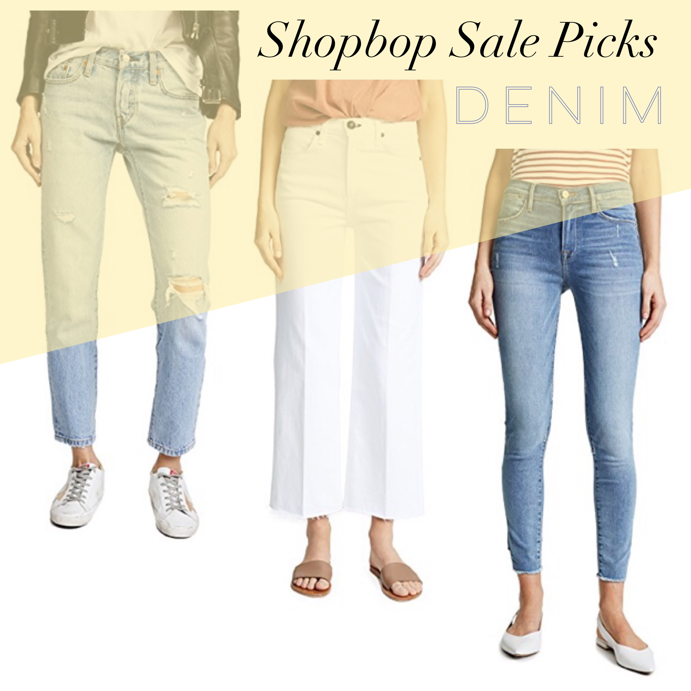 shopbop sale jeans denim