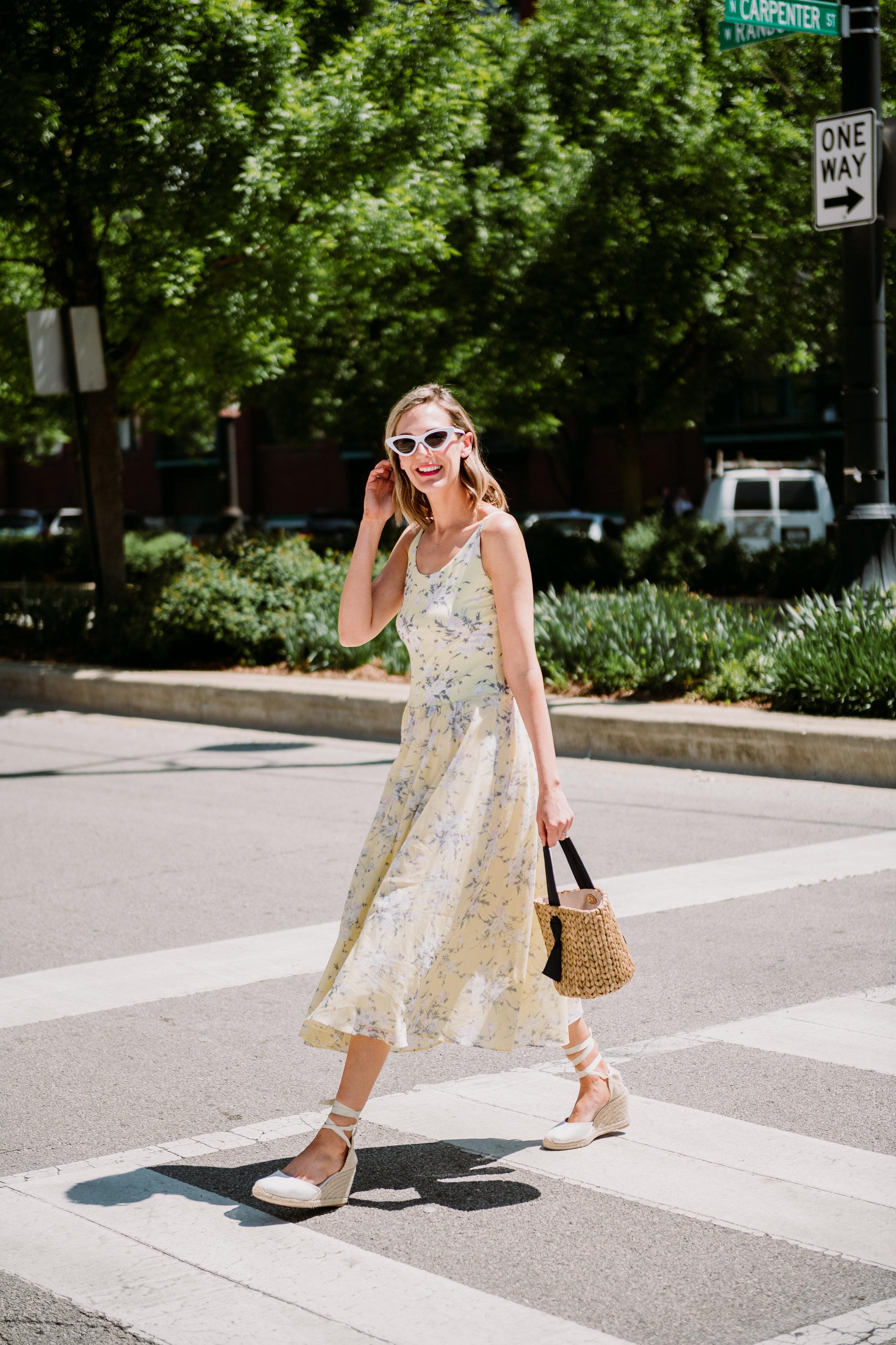 rebecca taylor lemon yellow dress