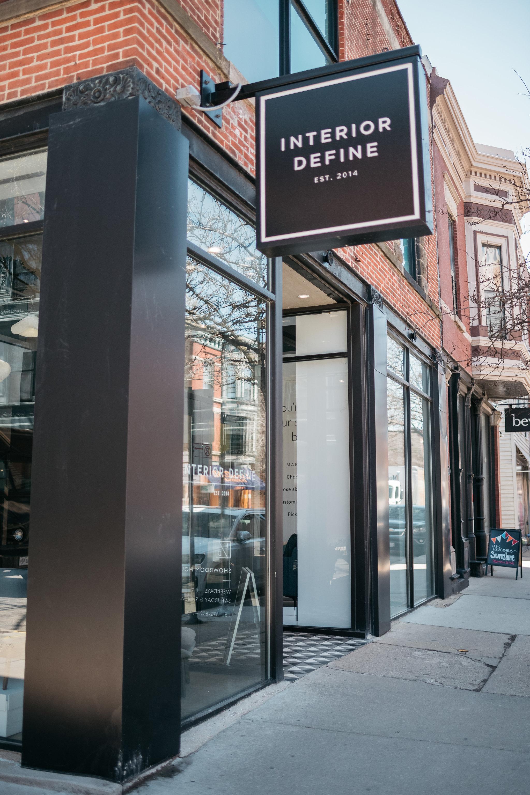 Interior Define Chicago Location On Armitage Avenue