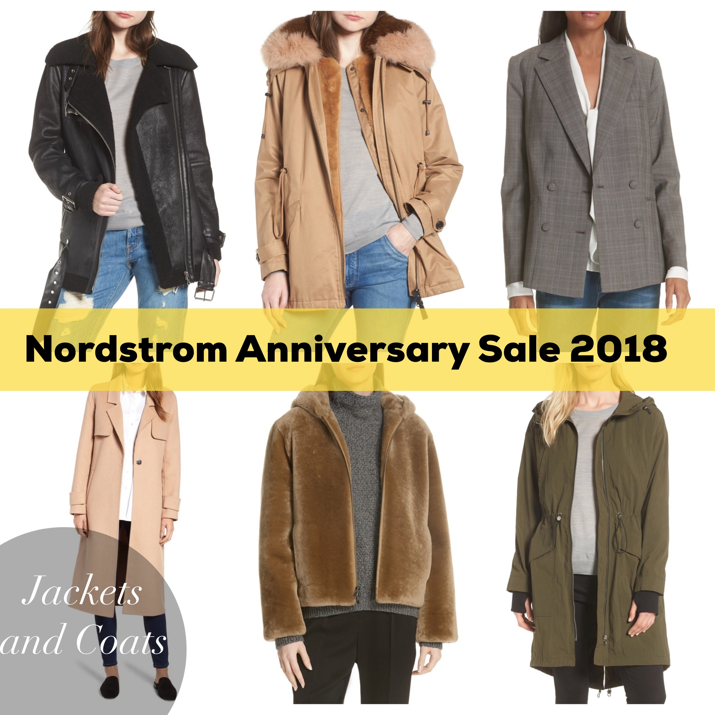 nordstrom anniversary sale jackets coats