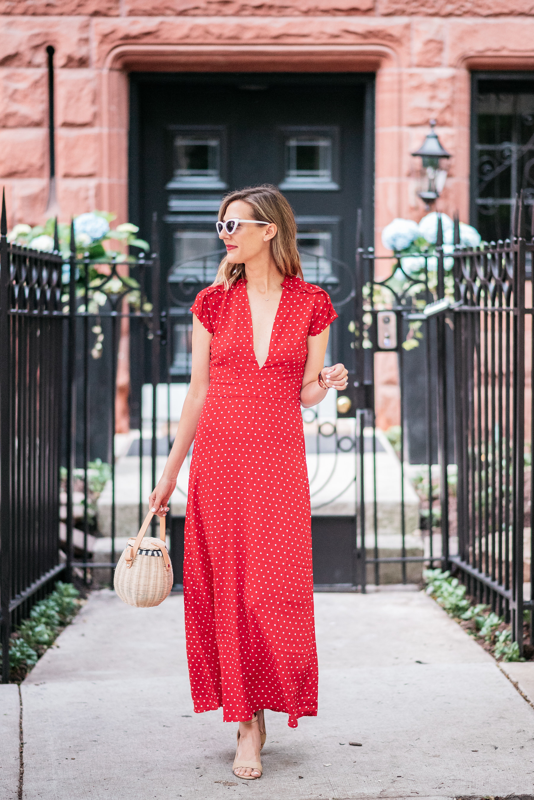 red maxi dress flynn skye