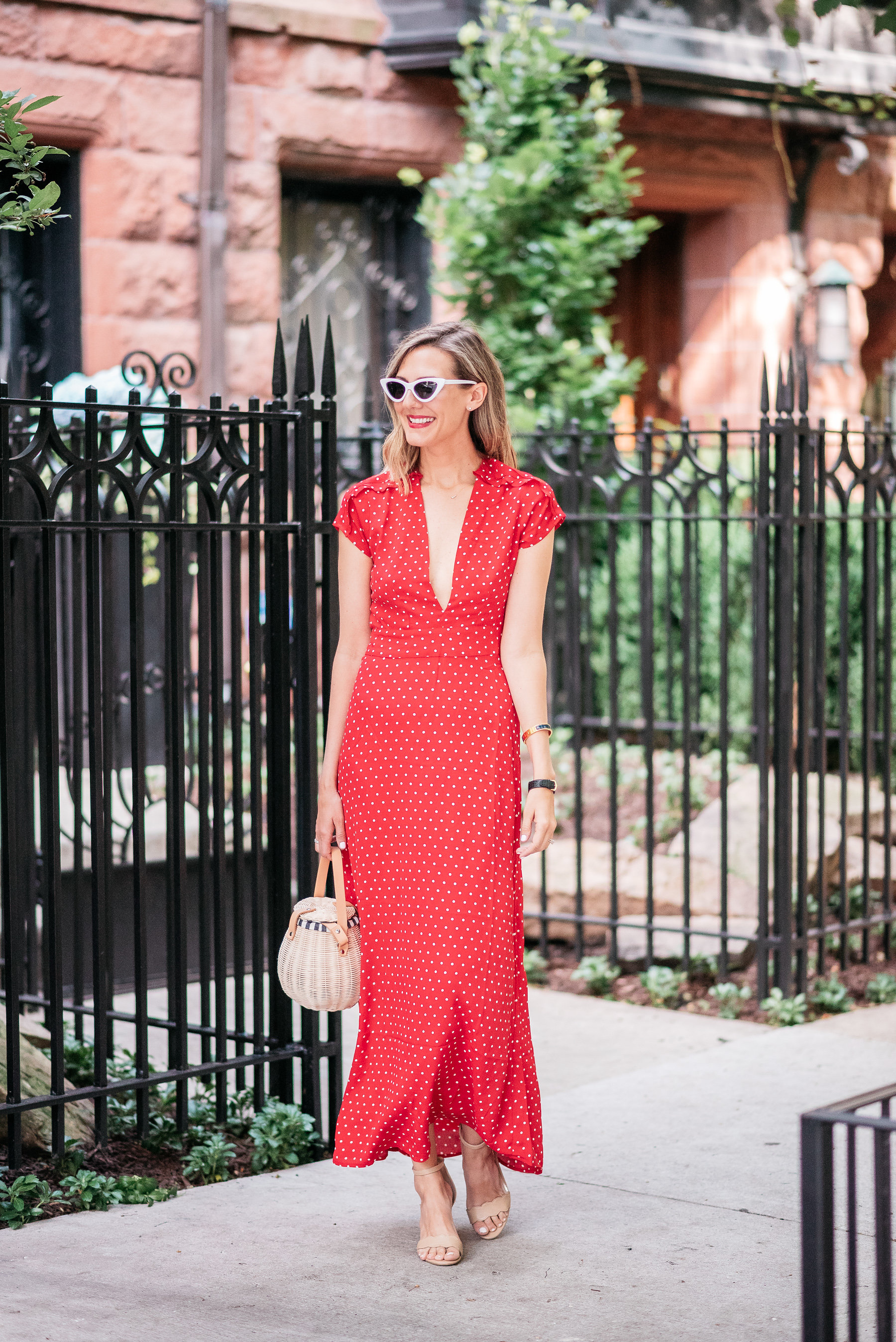 how to wear a red maxi dress wedding summer fall