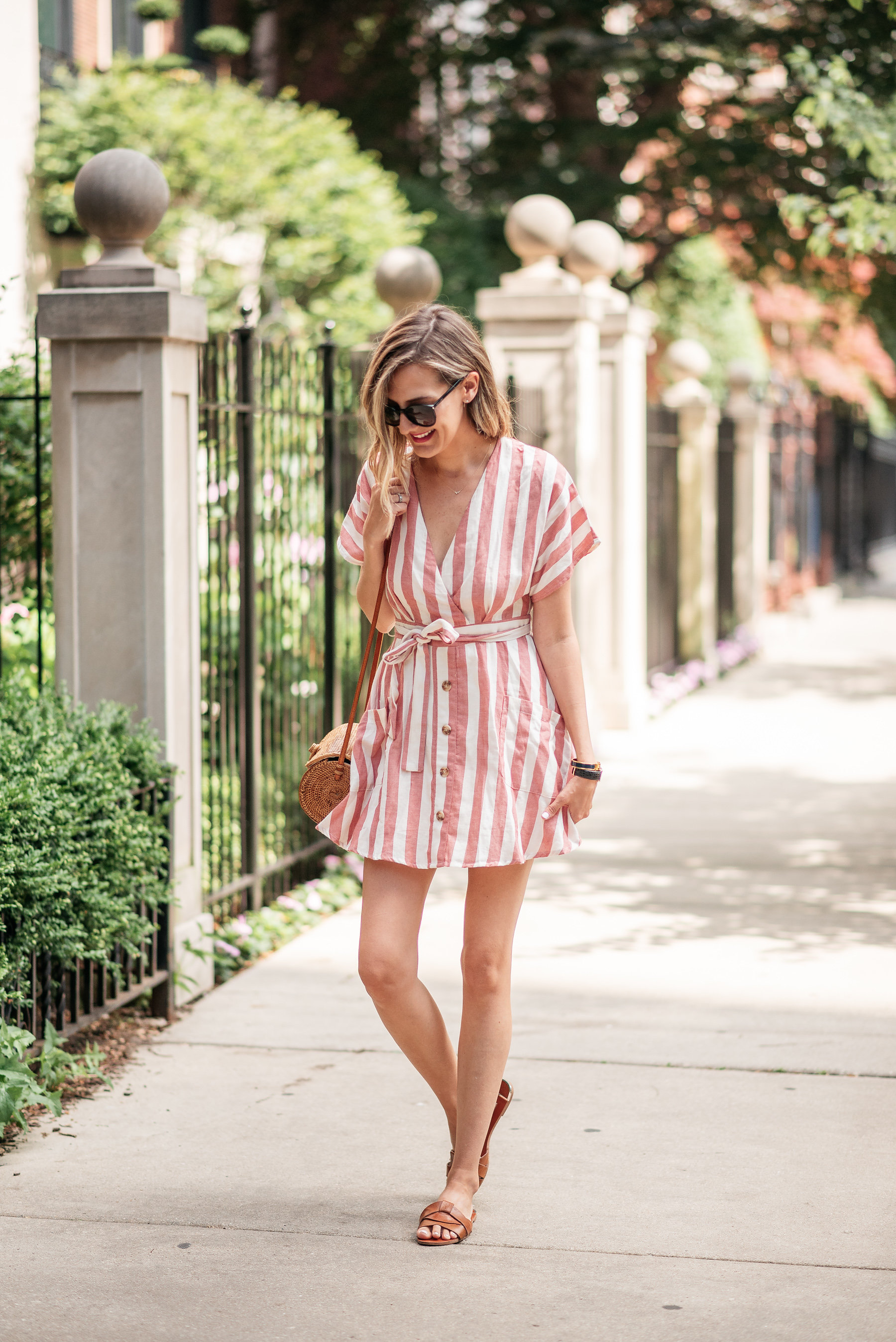 simple summer dress outfit