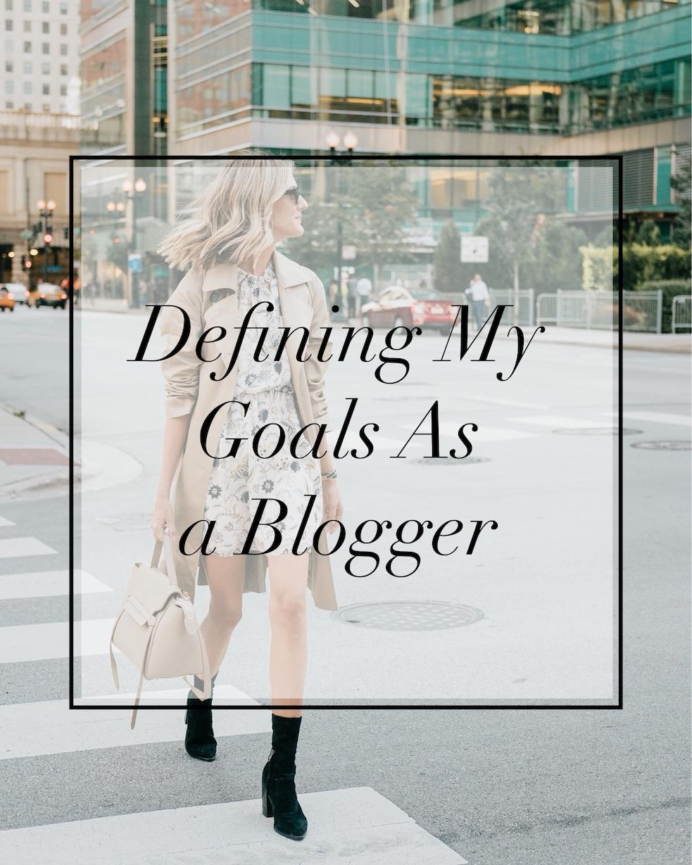influencer blogging goals
