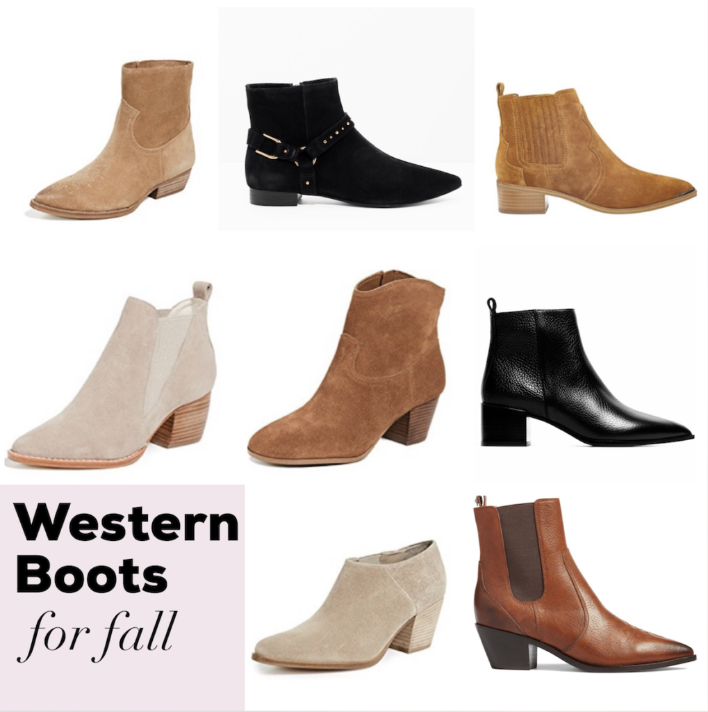 western inspired boots for fall