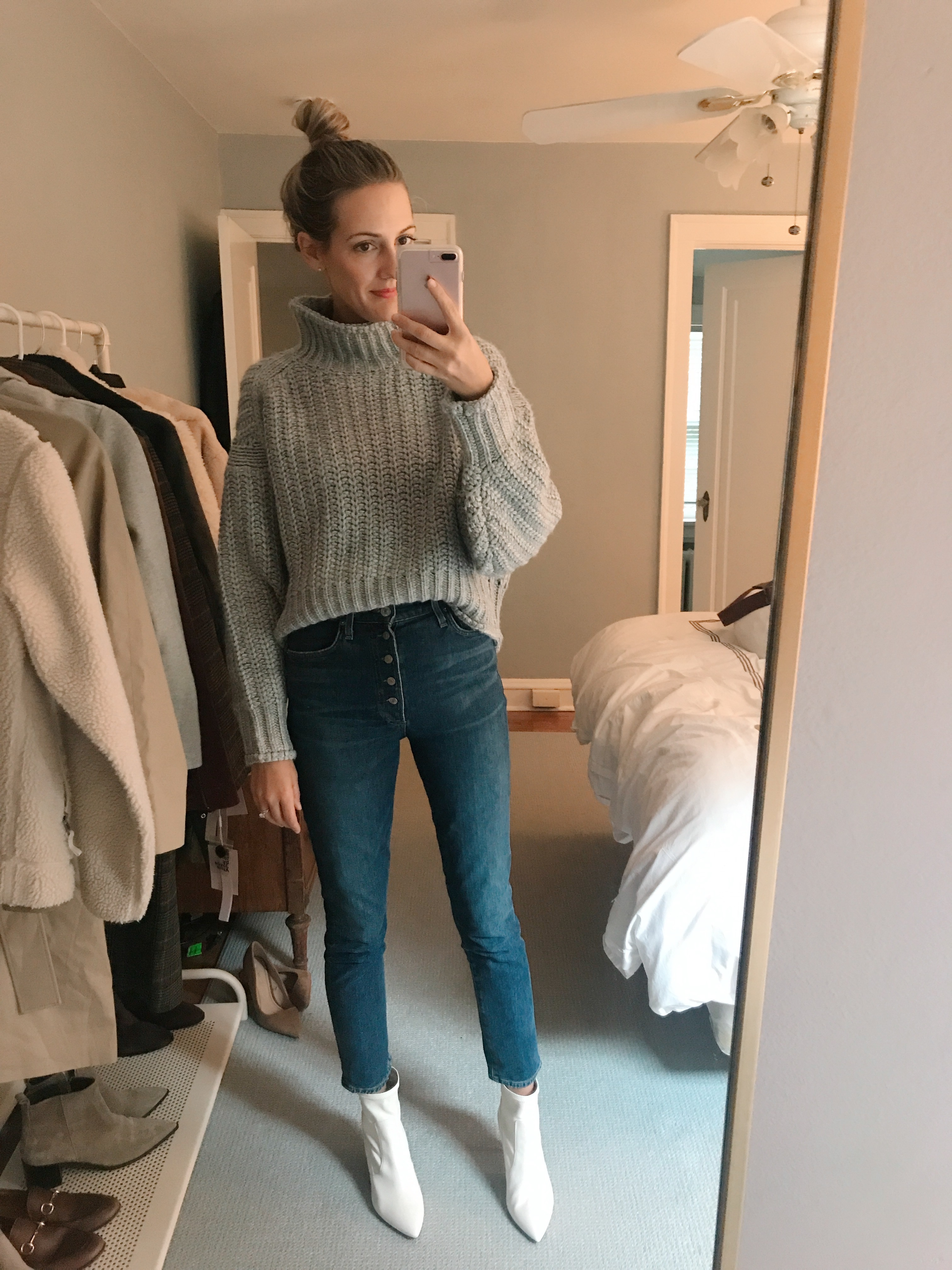 h&m inexpensive sweaters #ootd