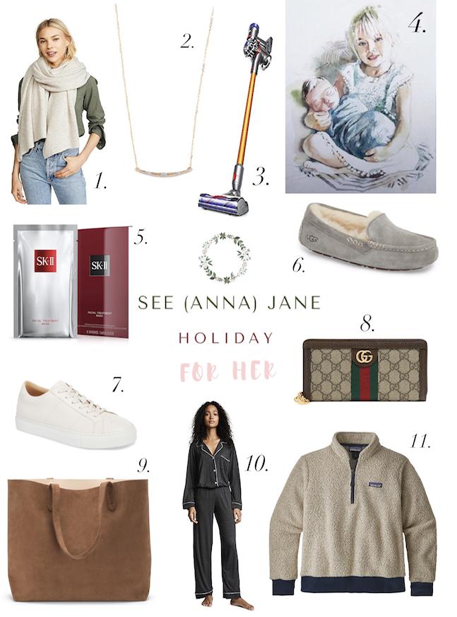 2018 women's gift guide