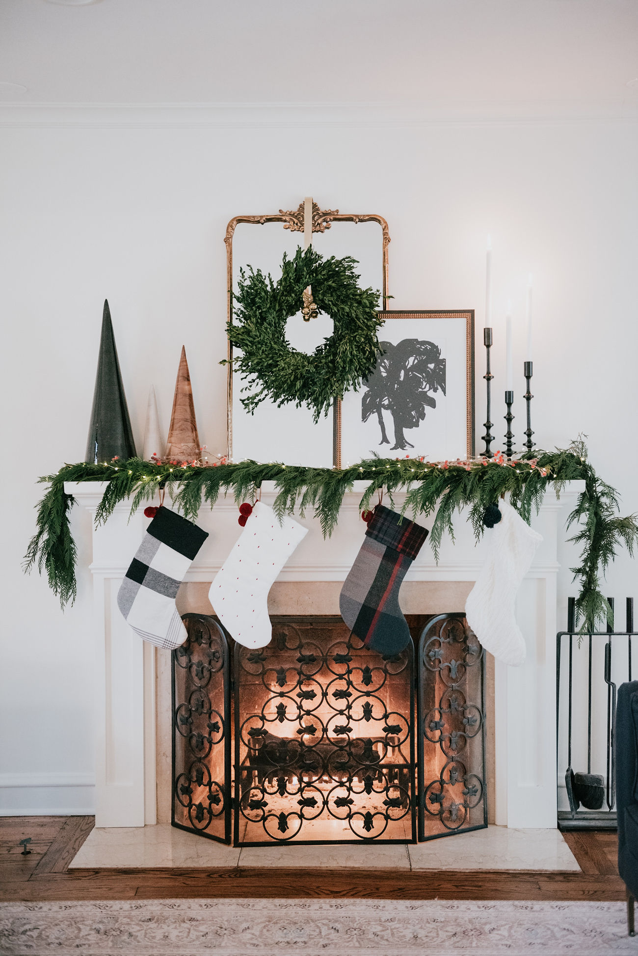 holiday decor inspiration havenly mantel classic