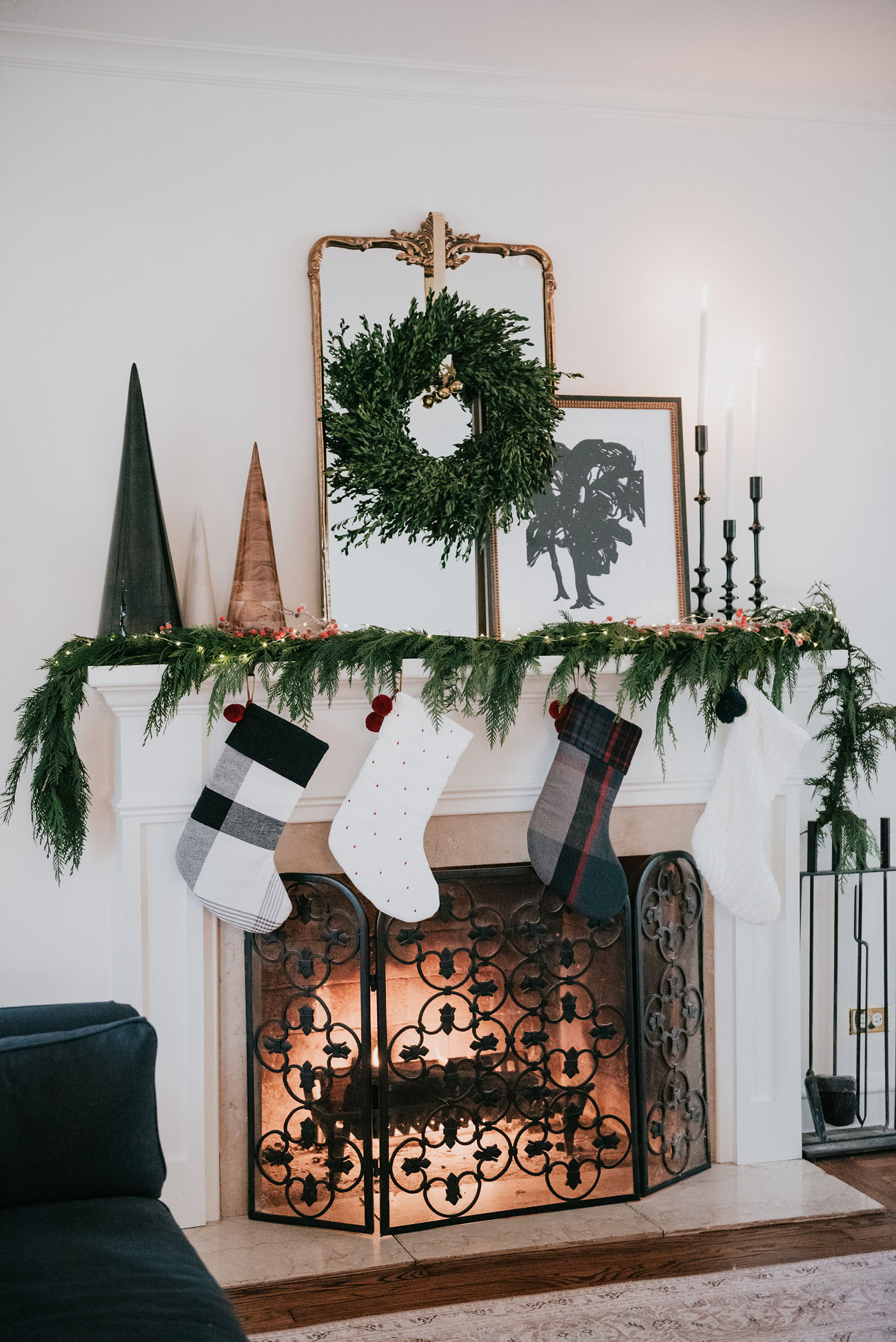 holiday decor inspiration havenly mantel traditional