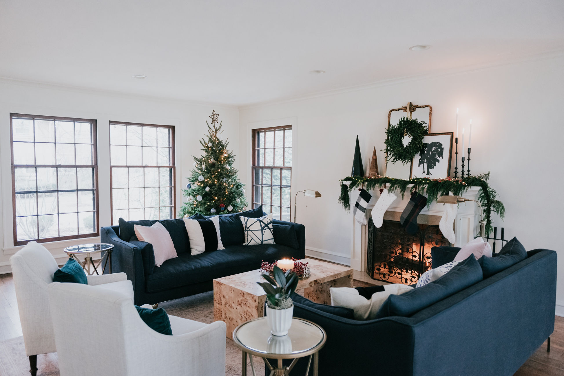 holiday decor inspiration havenly mantel