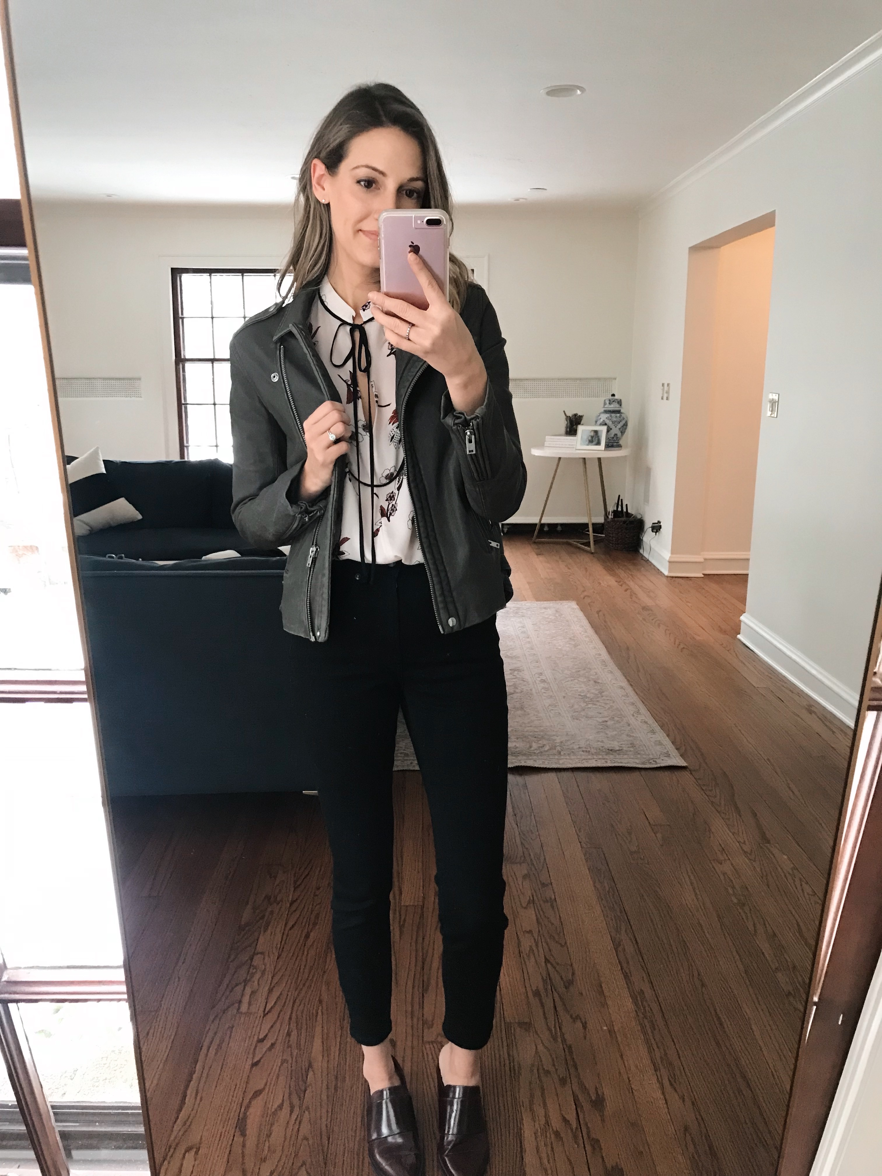 how to style leather jacket 3 ways
