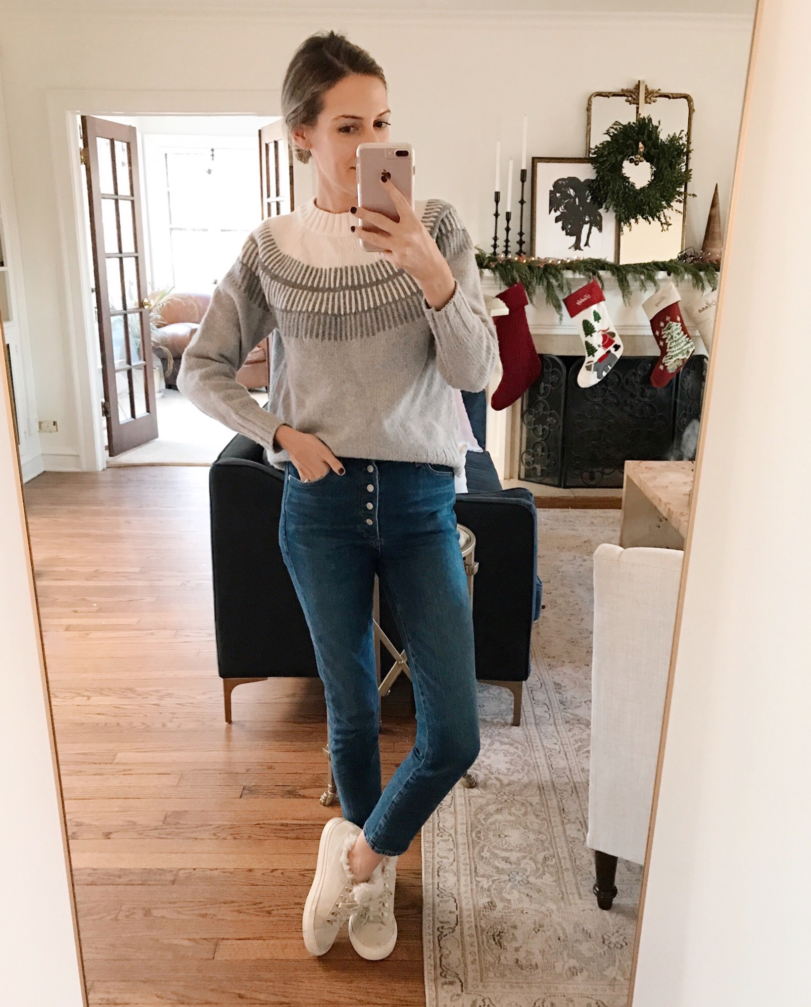 fair isle sweater everlane