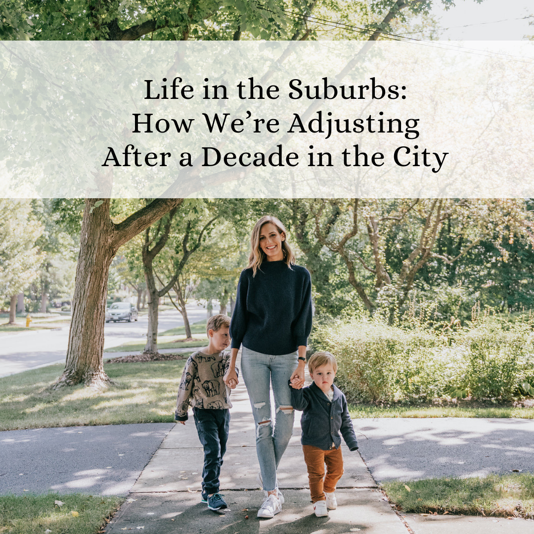 i moved to the suburbs and lived to tell the tale