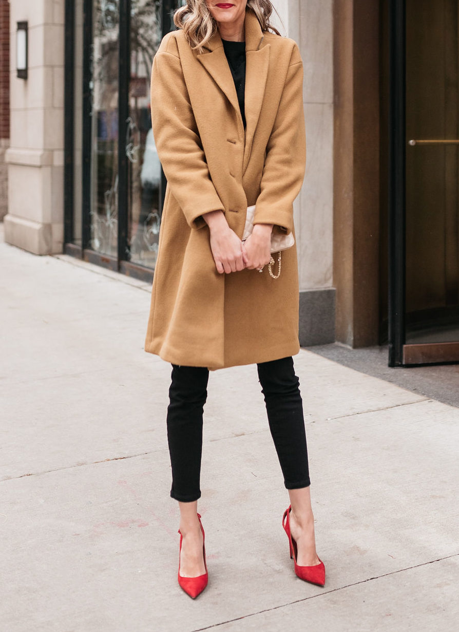 how to wear black and tan neutral combination