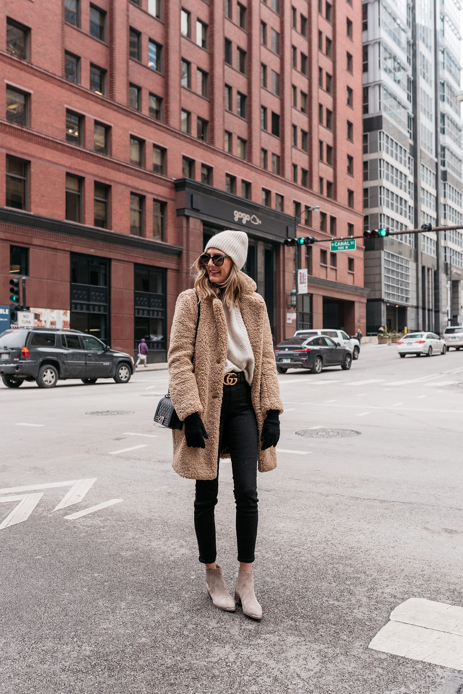 winter outfit teddy coat