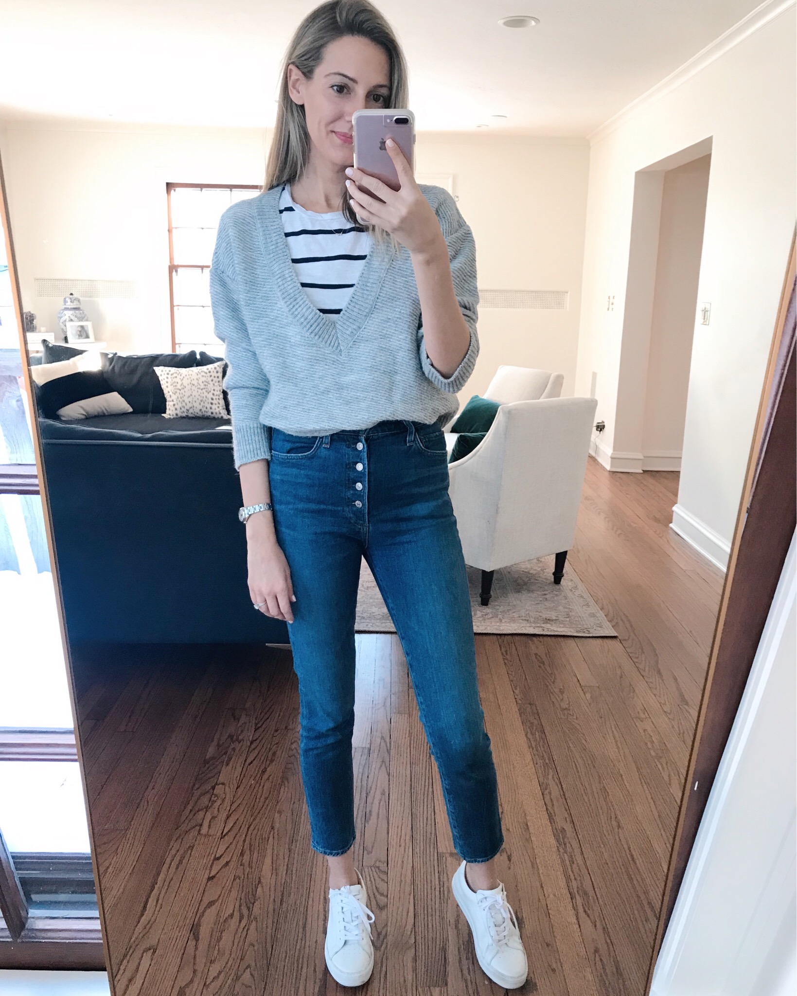 how to wear a striped t-shirt five ways