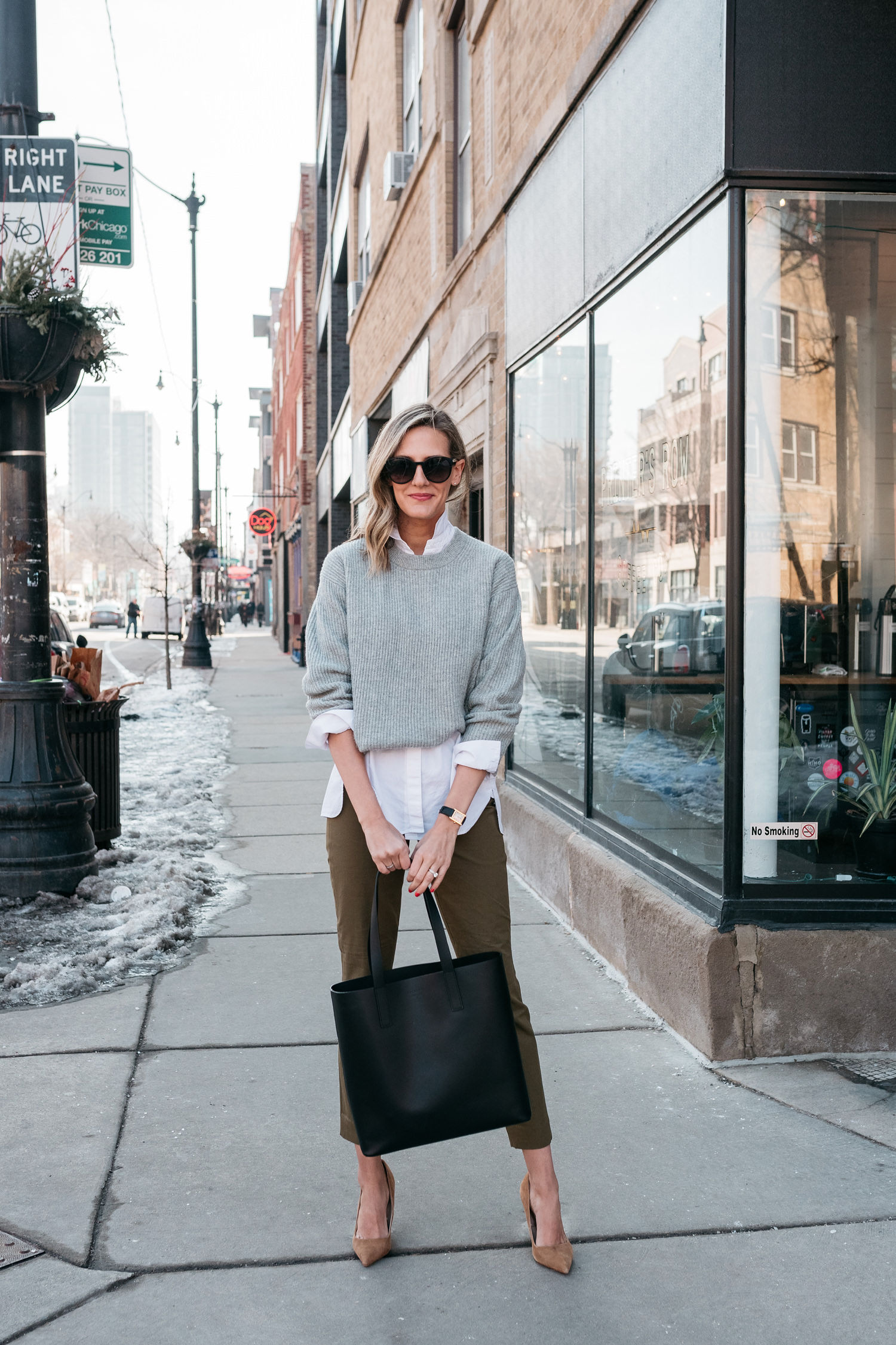 Everlane work staples  // the $50 work pant