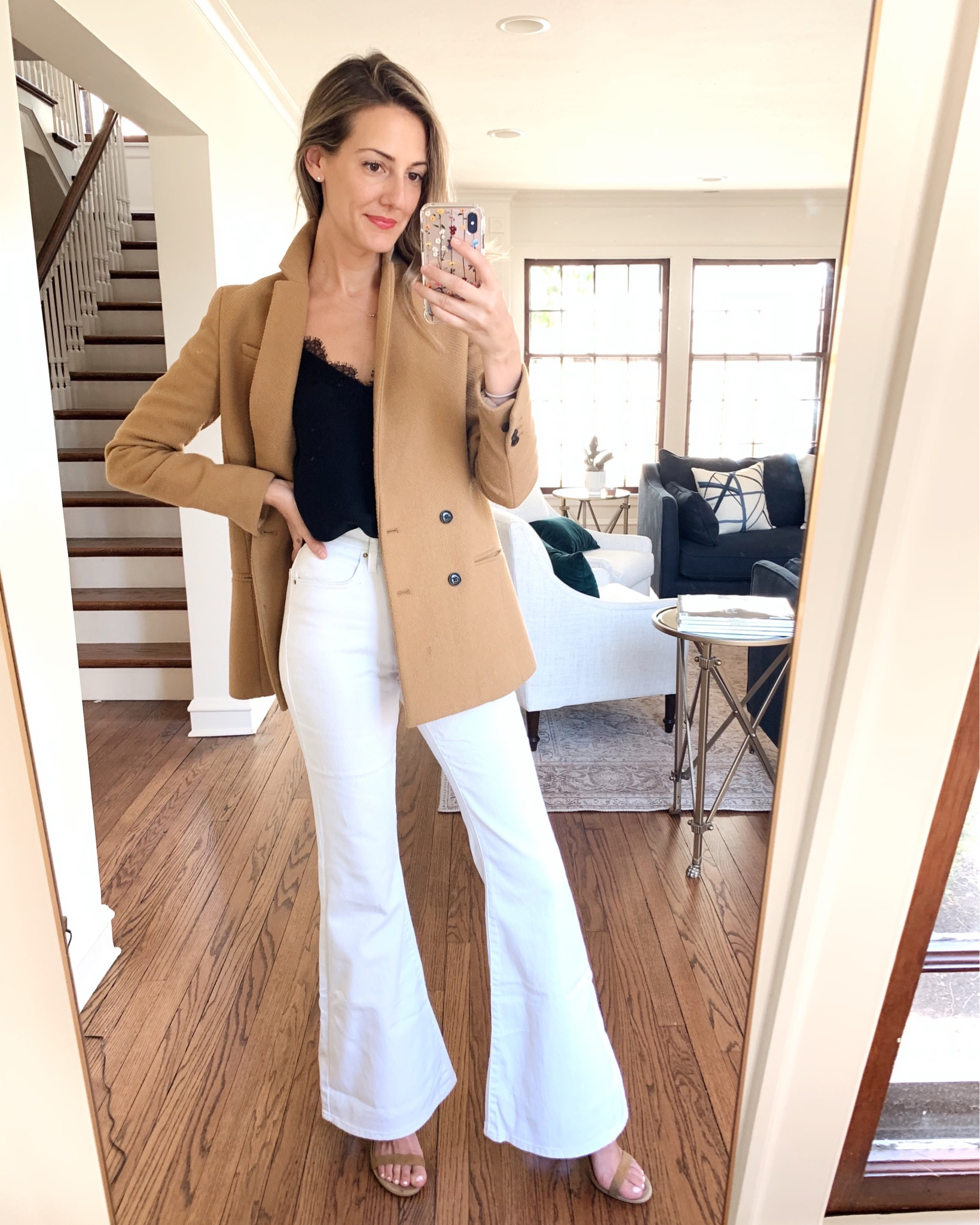 how to style white jeans six ways