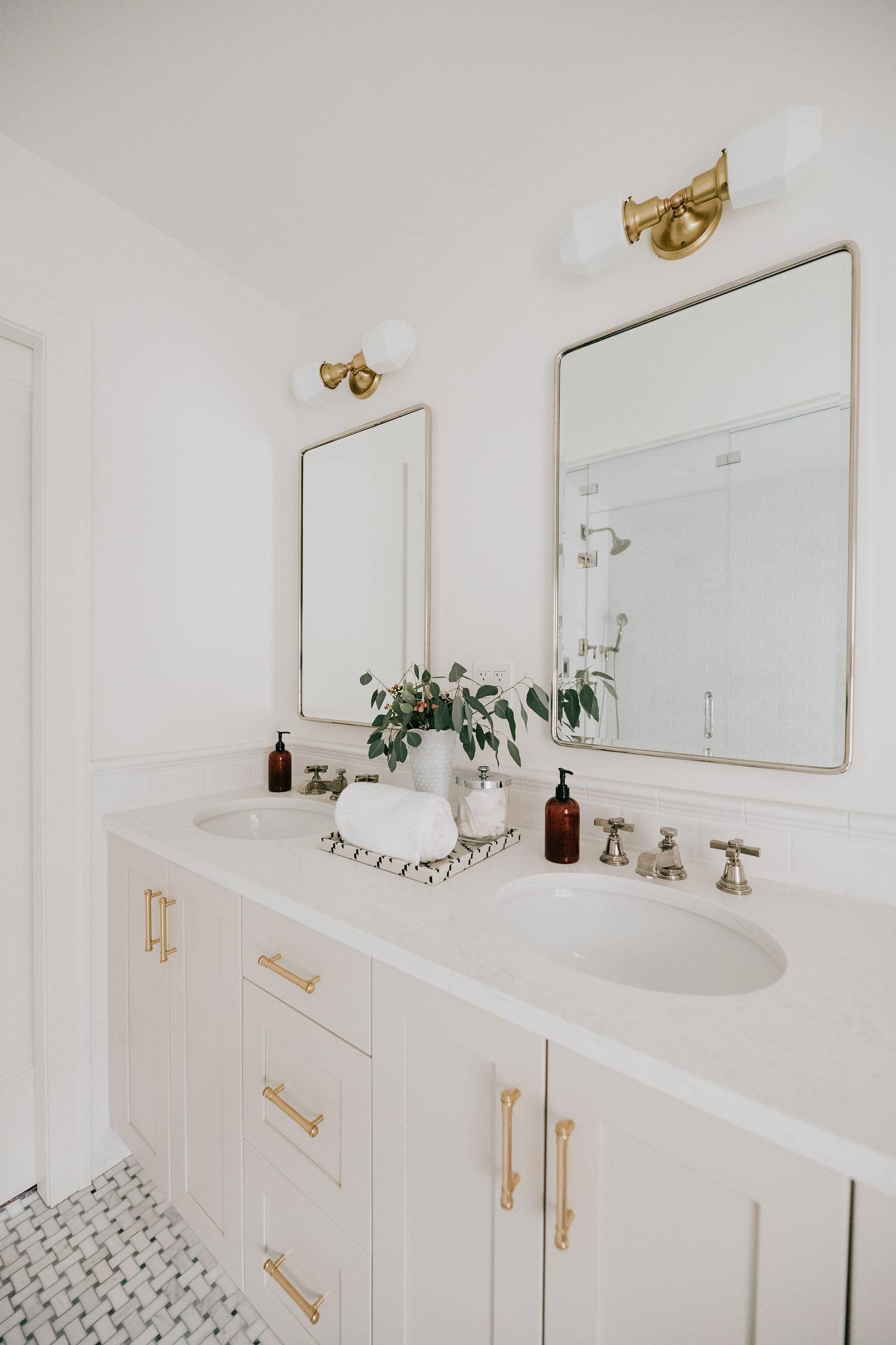 old tudor home master bathroom renovation