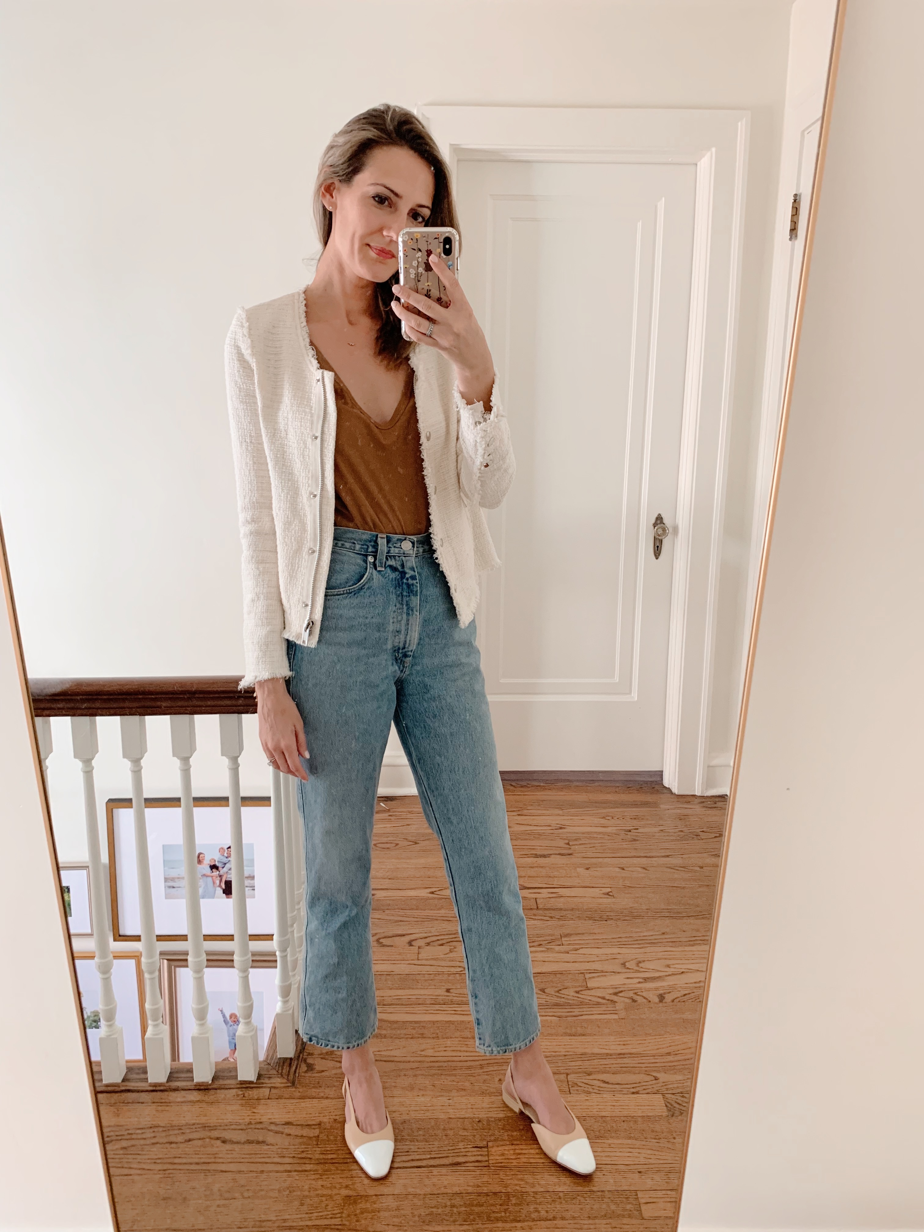 how to style knit jacket