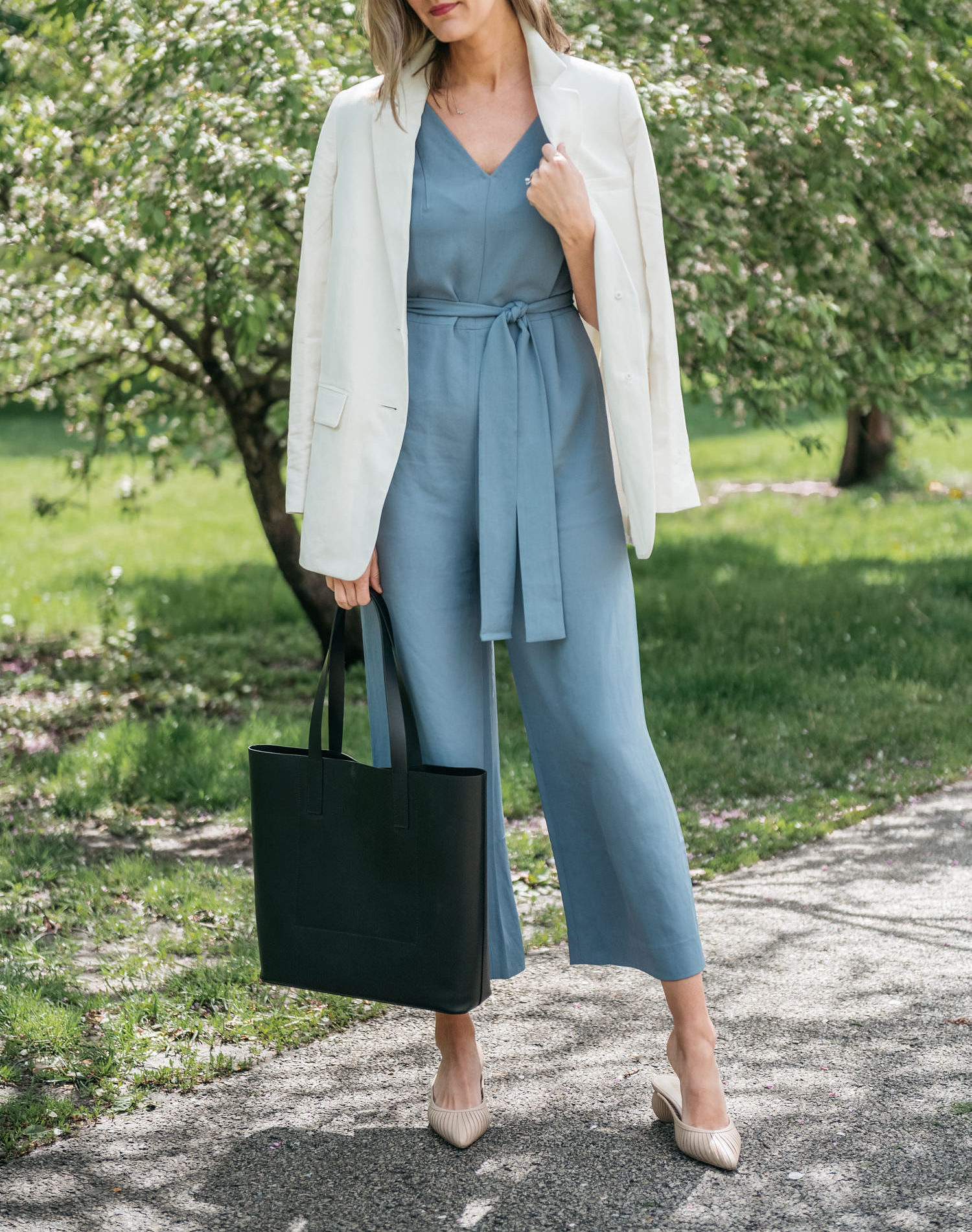 jumpsuit two ways / everlane picks for summer