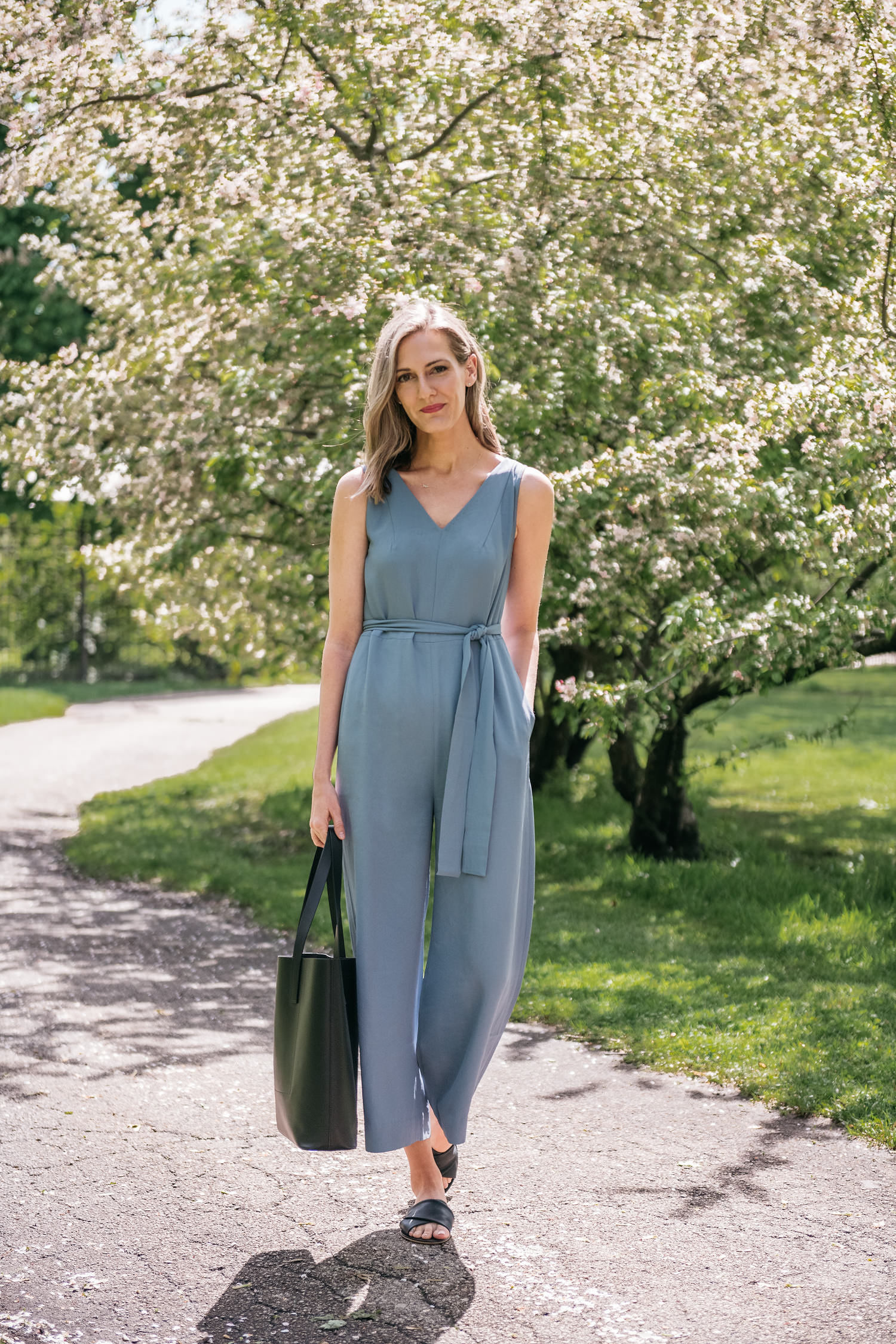 casual jumpsuit / everlane picks for summer