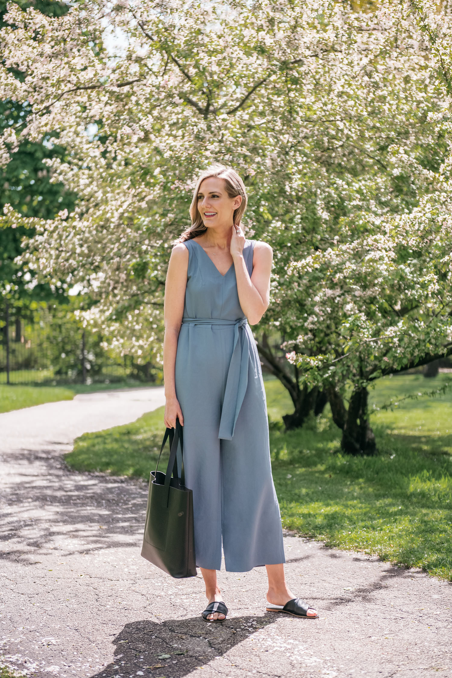 everlane jumpsuit two ways