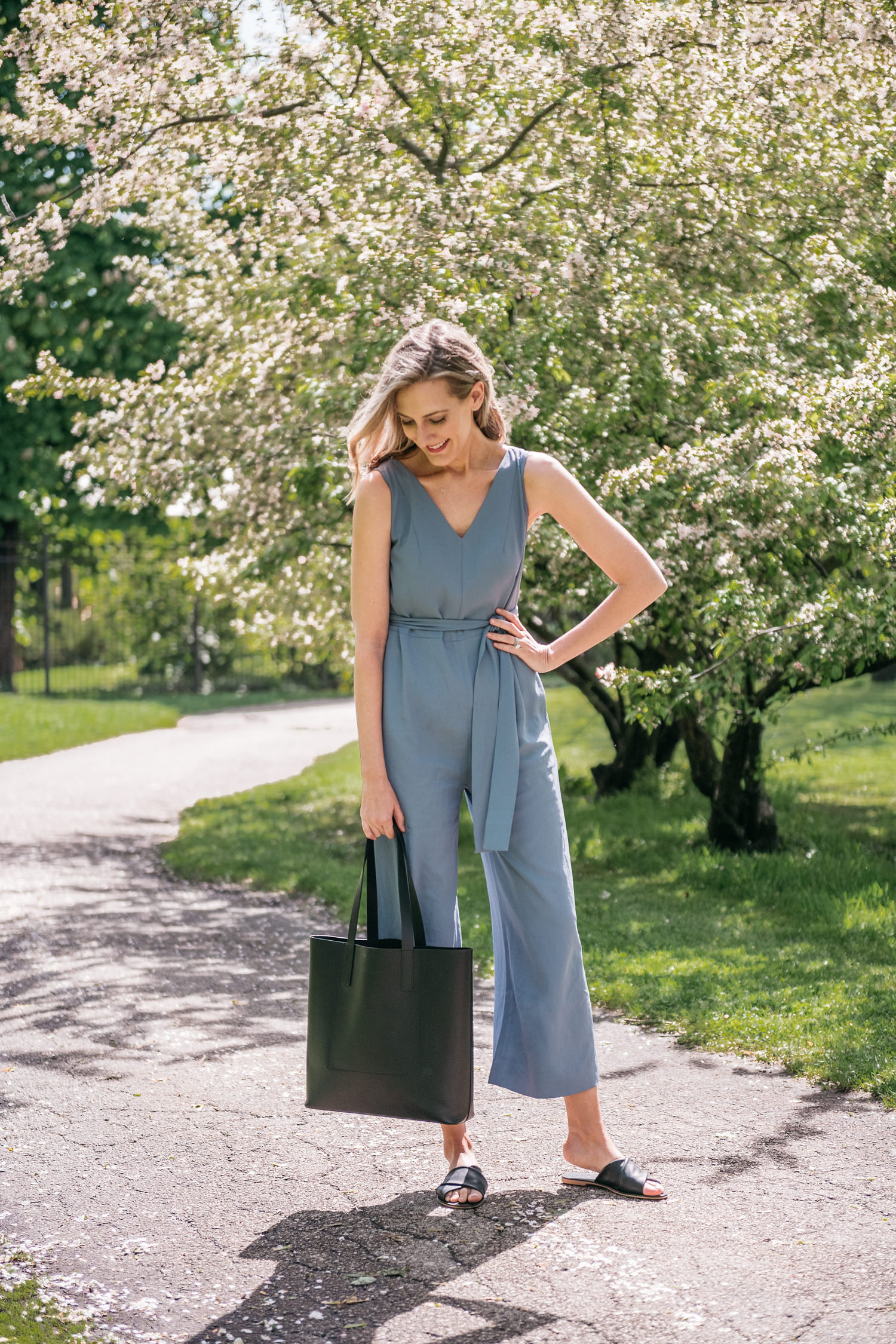 everlane jumpsuit for summer
